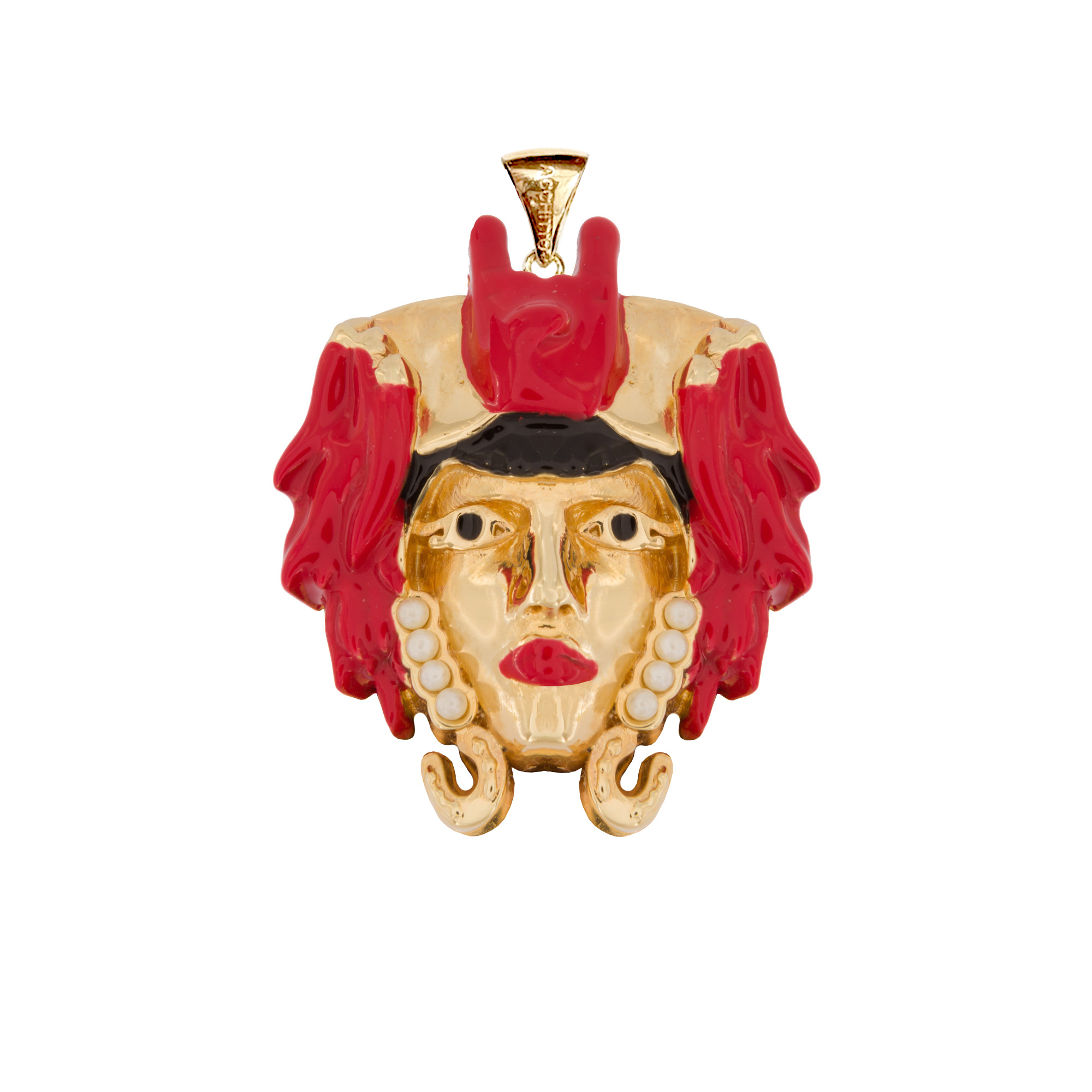 LUCKY MOOR CHARM - RED by Acchitto on curated-crowd.com