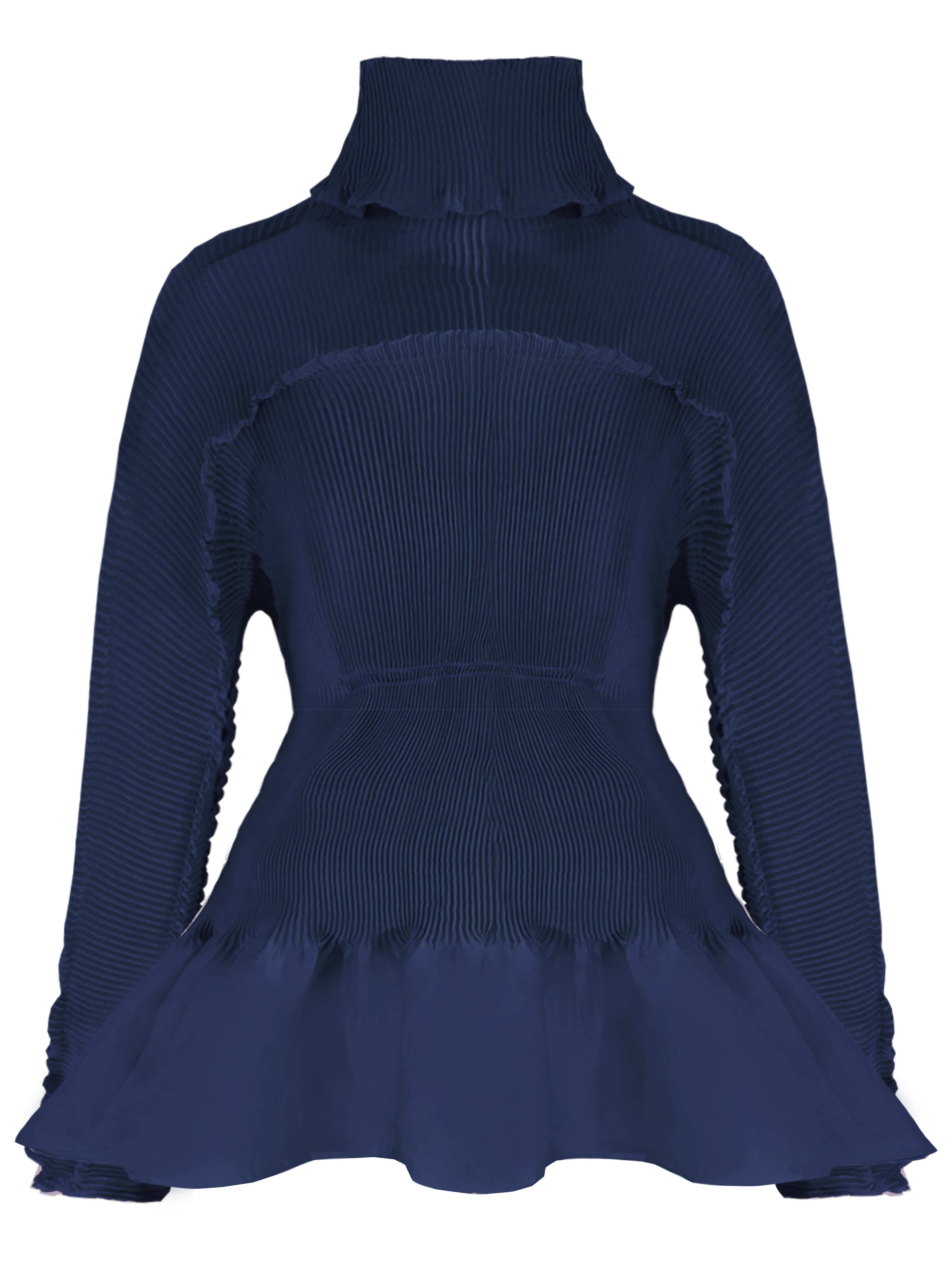 Osirus Turtleneck - Navy by Georgia Hardinge on curated-crowd.com