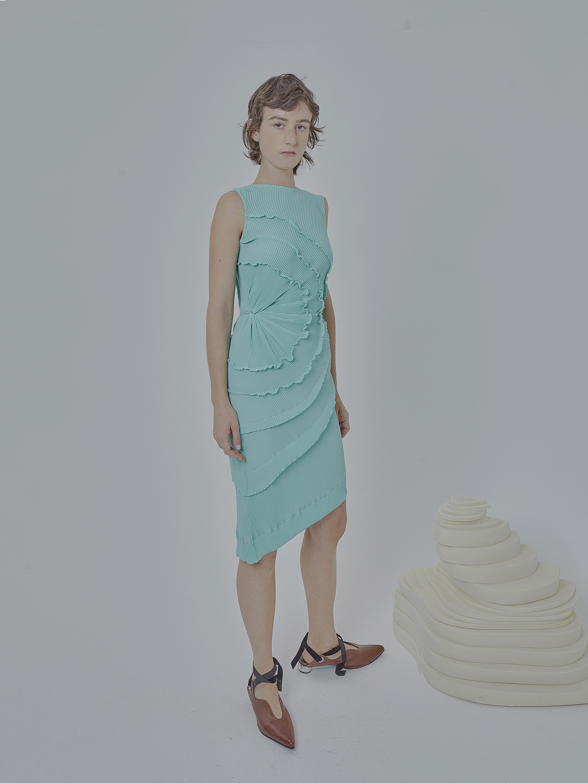 Opal Mini Dress by Georgia Hardinge on curated-crowd.com
