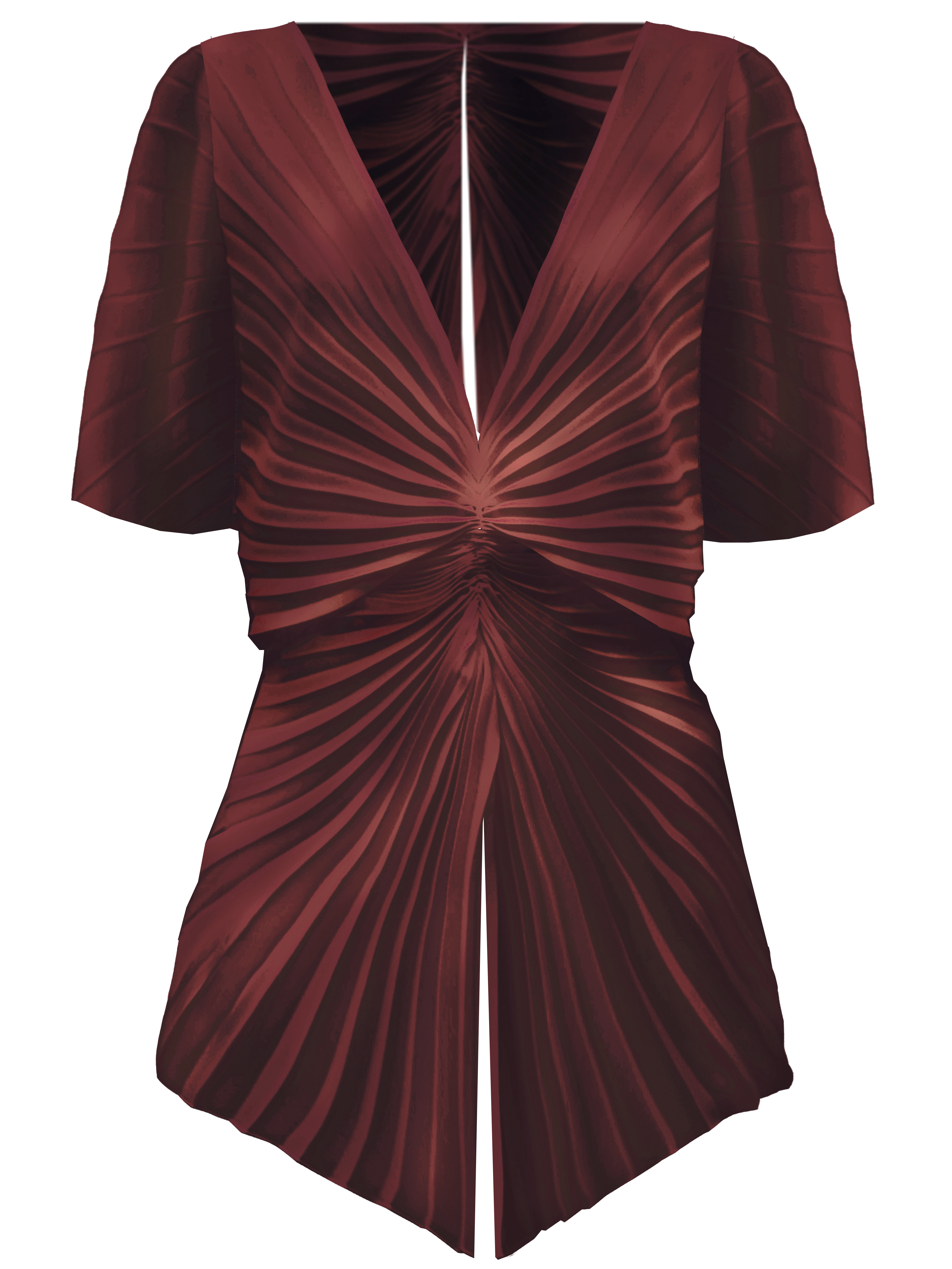 Illusion Top - Brown by Georgia Hardinge on curated-crowd.com