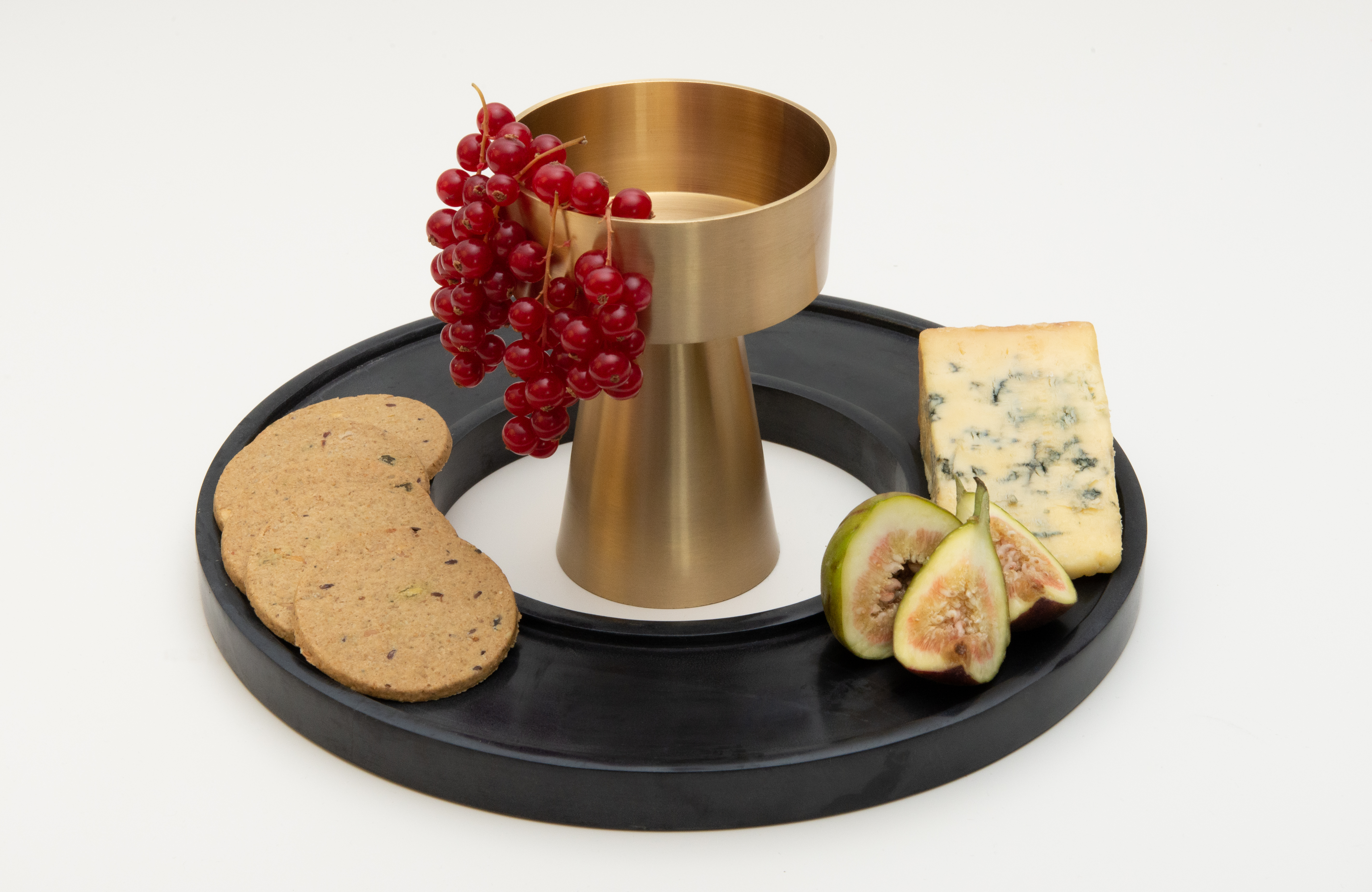 Agni, Chalice and Tray Set by Kam Ce Kam on curated-crowd.com