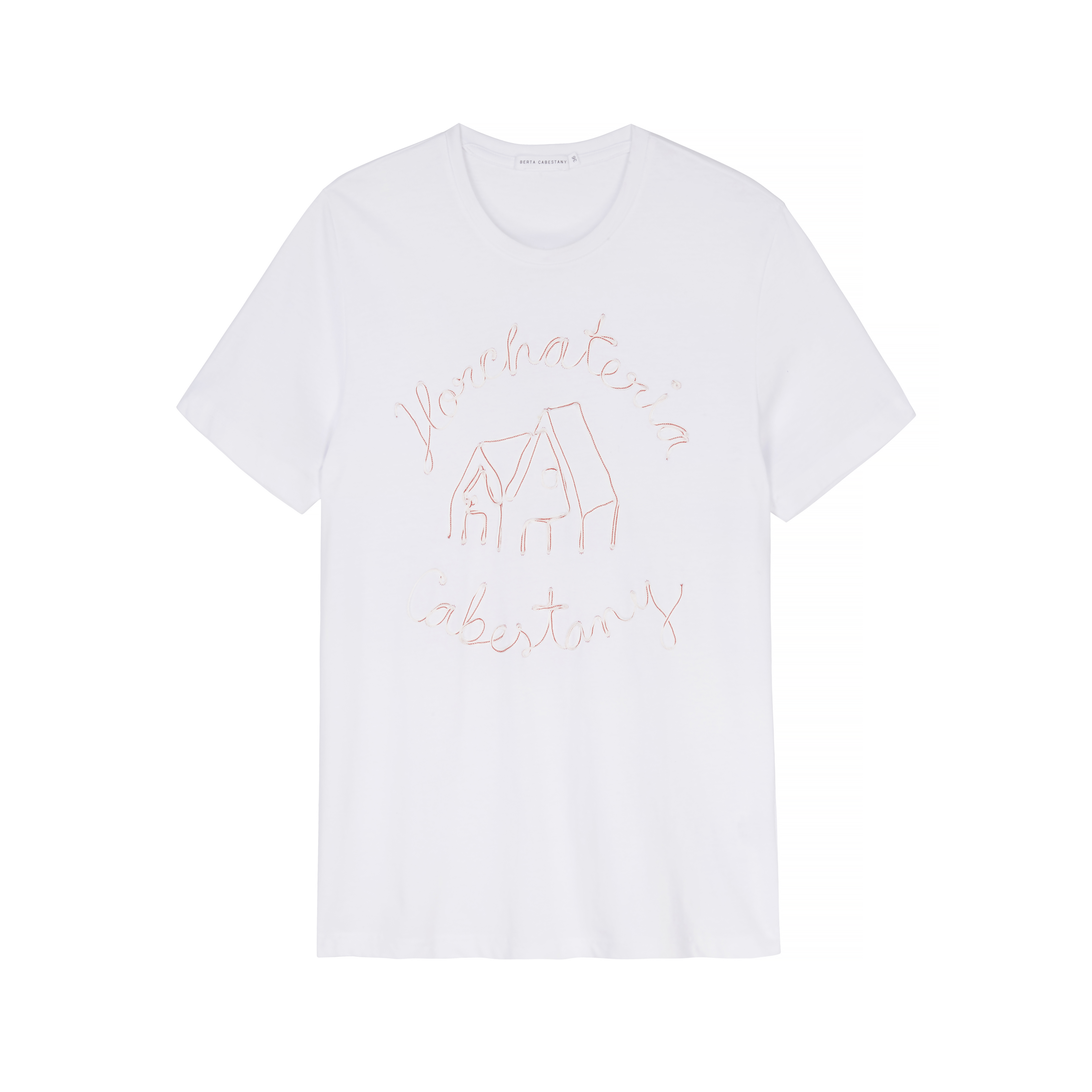 Mazapan T-Shirt - White by Berta Cabestany on curated-crowd.com