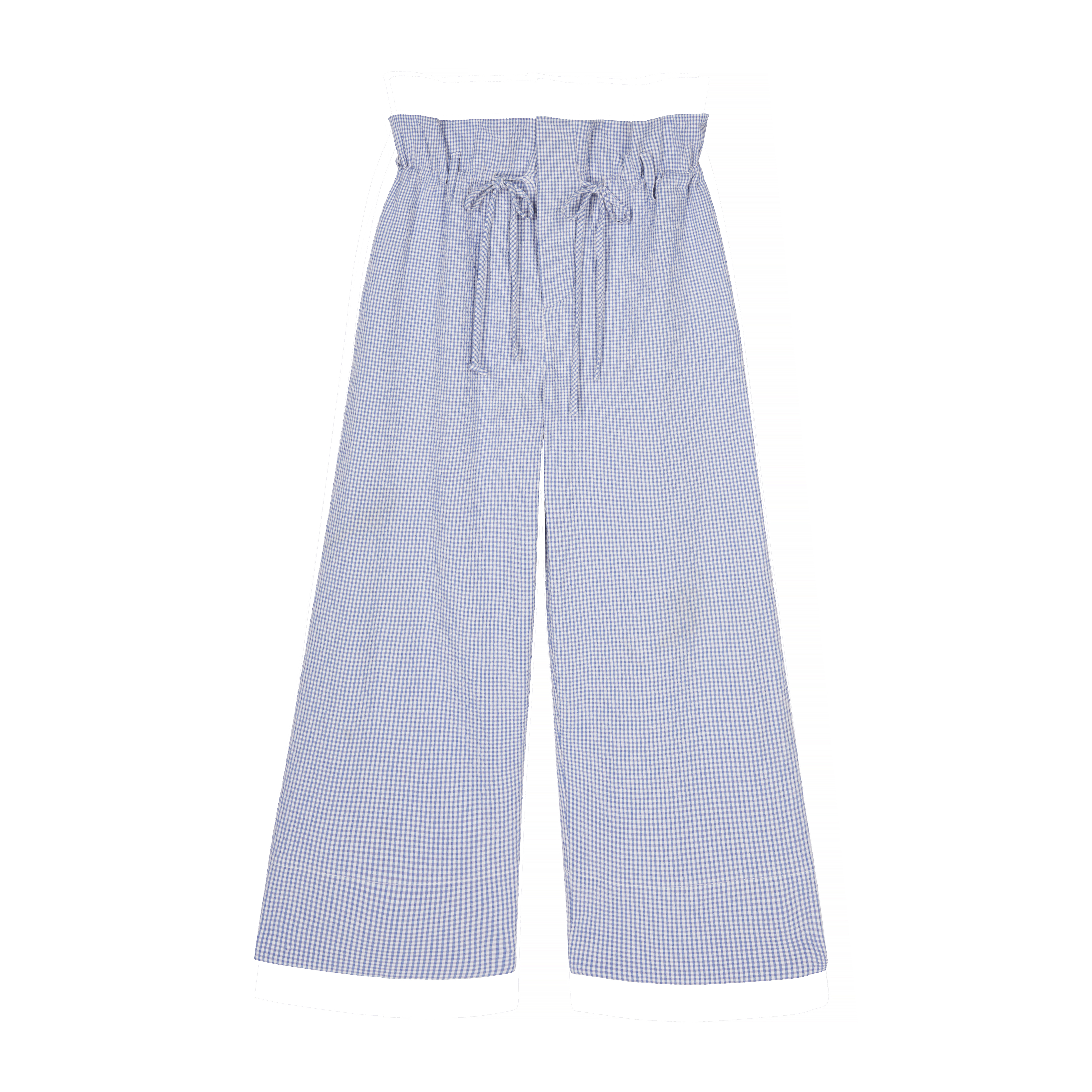 Mar Trousers - Blue by Berta Cabestany on curated-crowd.com