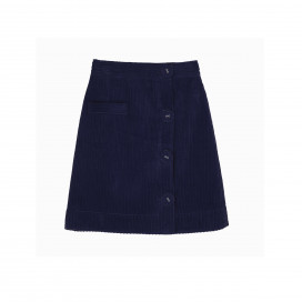 Colada Skirt - Navy by Berta Cabestany on curated-crowd.com