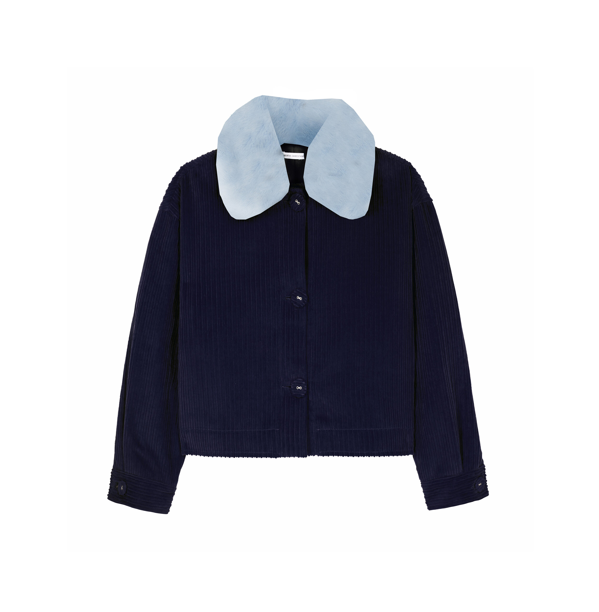 Piña Jacket - Navy by Berta Cabestany on curated-crowd.com