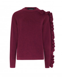 Ruffle Jumper by PAPER London on curated-crowd.com