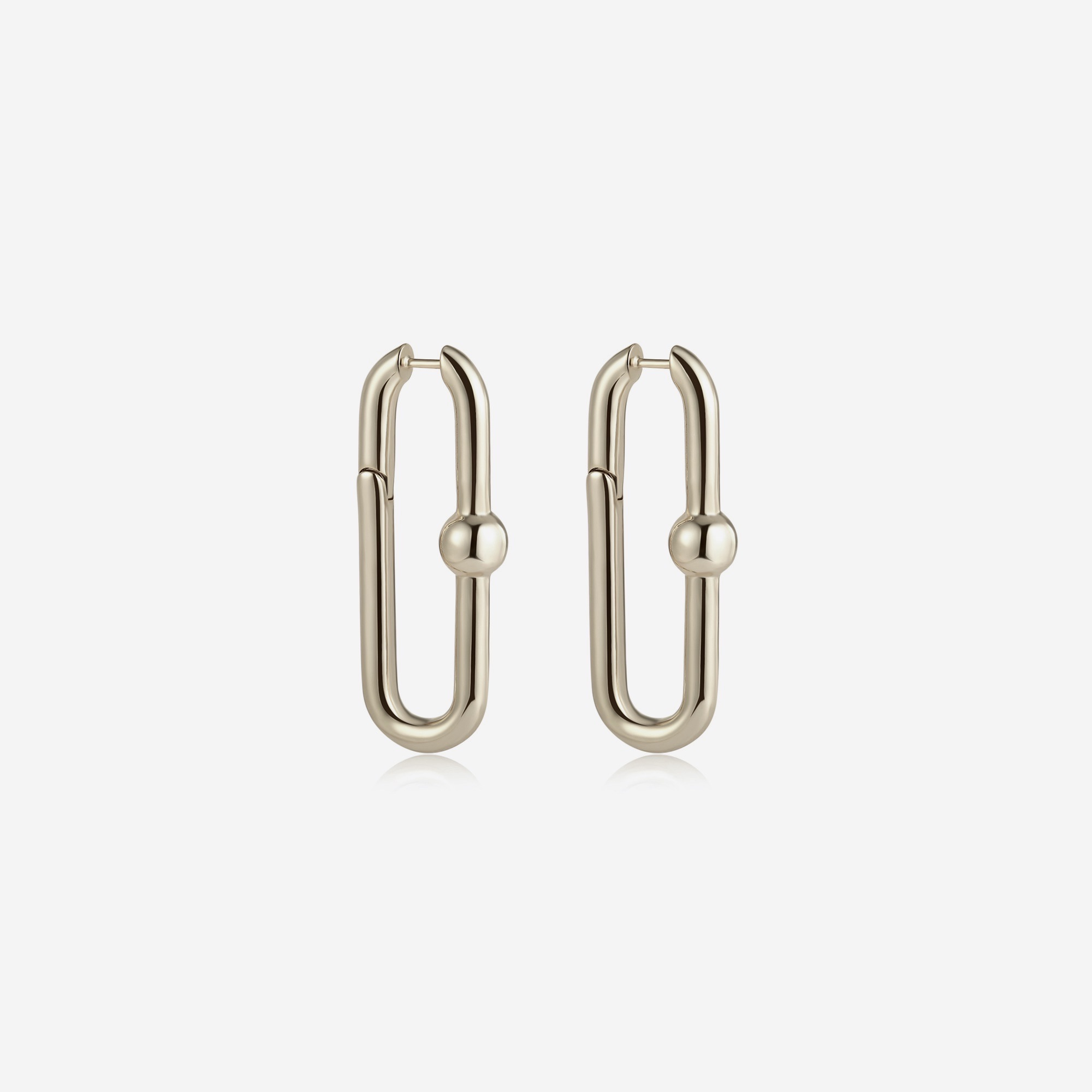 Serah Hoop - Gold by Emili on curated-crowd.com