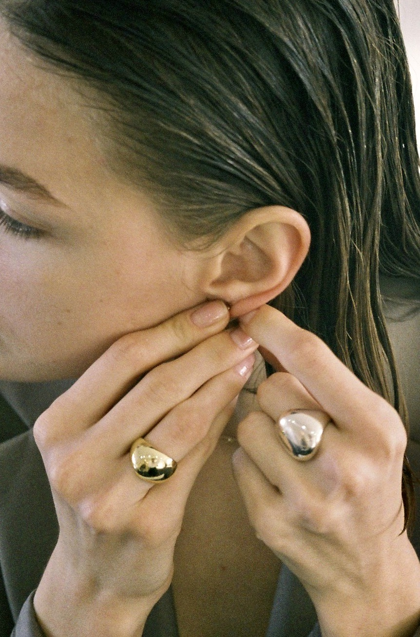 Lavine Signet Ring - Gold by Emili on curated-crowd.com