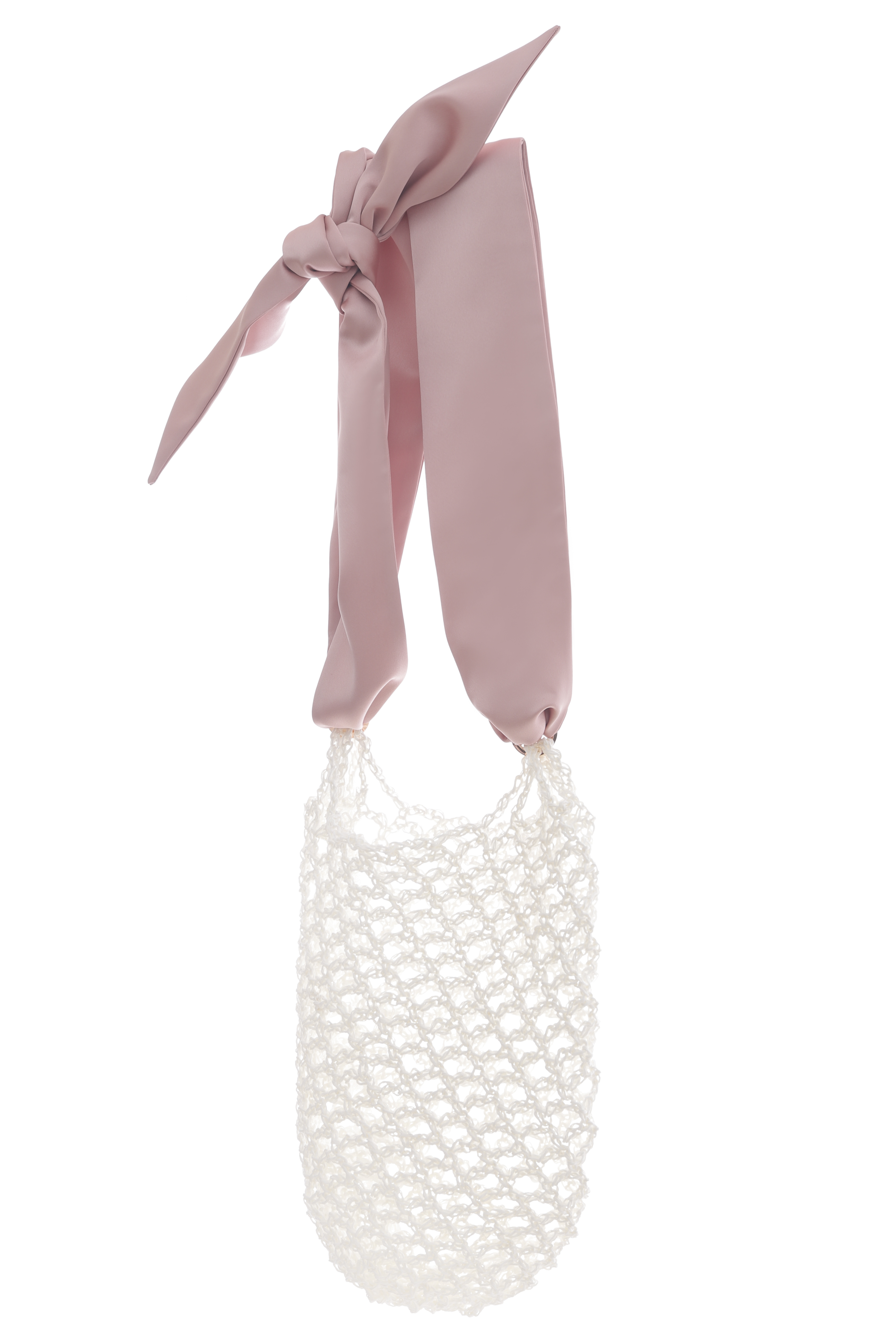Paloma Net Bag - Creme M by 0711 Tbilisi on curated-crowd.com
