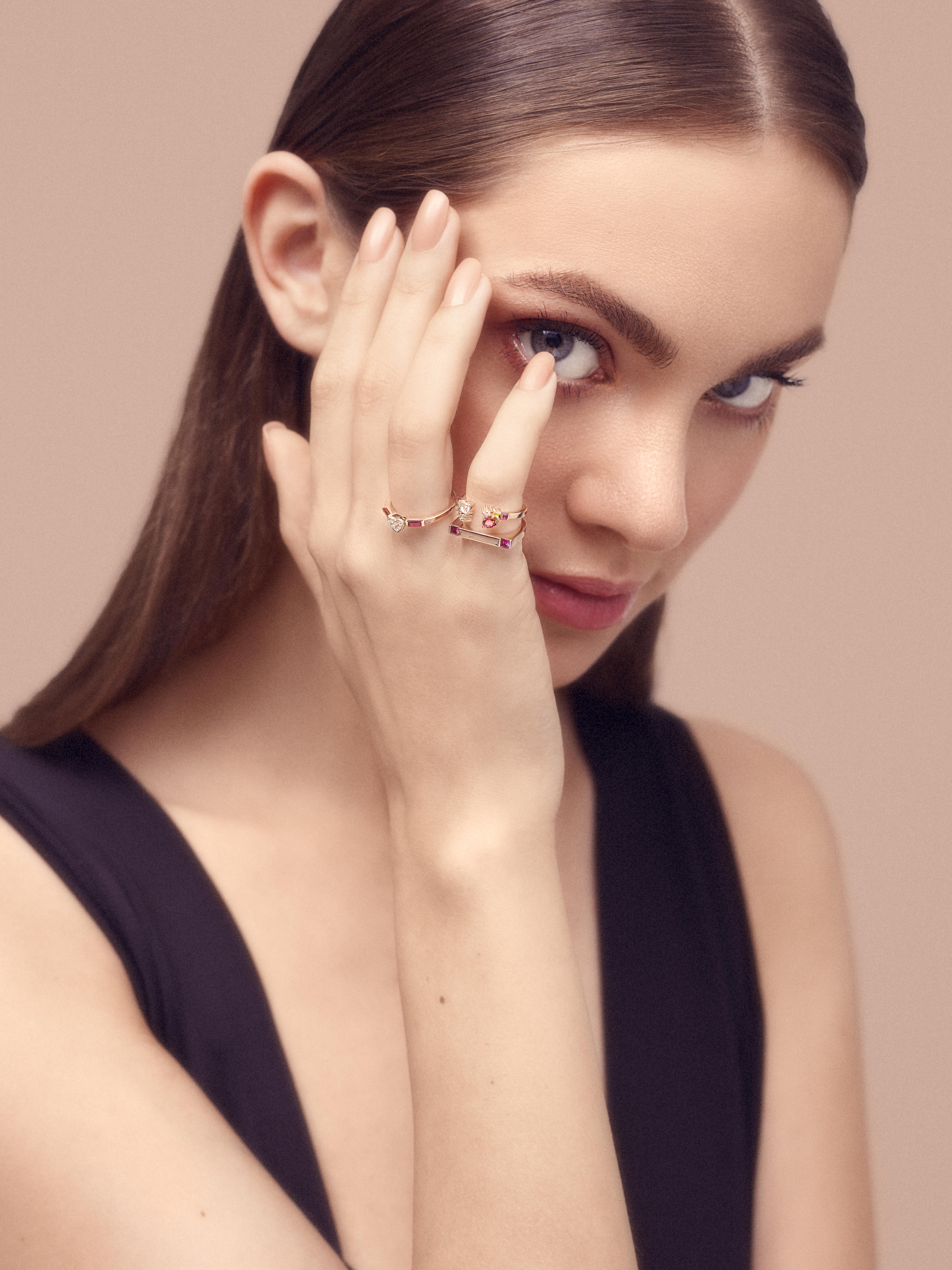 Attraction Bar Ring by Marmari on curated-crowd.com