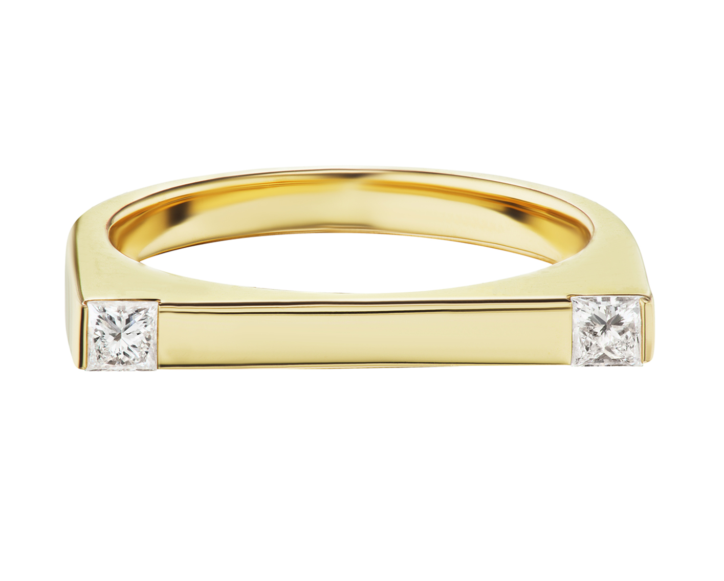 Attraction Diamond Bar Ring by Marmari on curated-crowd.com