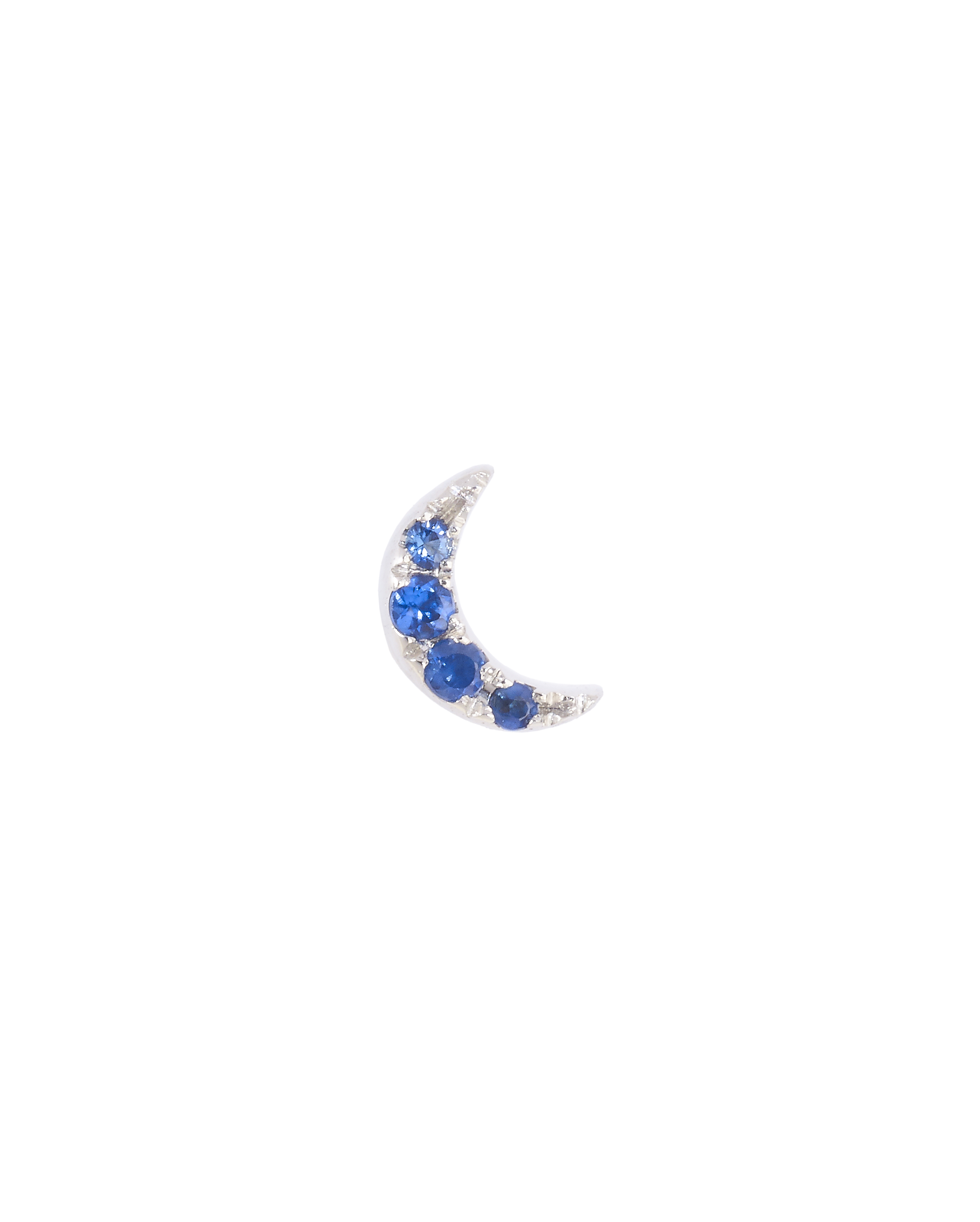Moonlight Blue Sapphire Earring by Marmari on curated-crowd.com