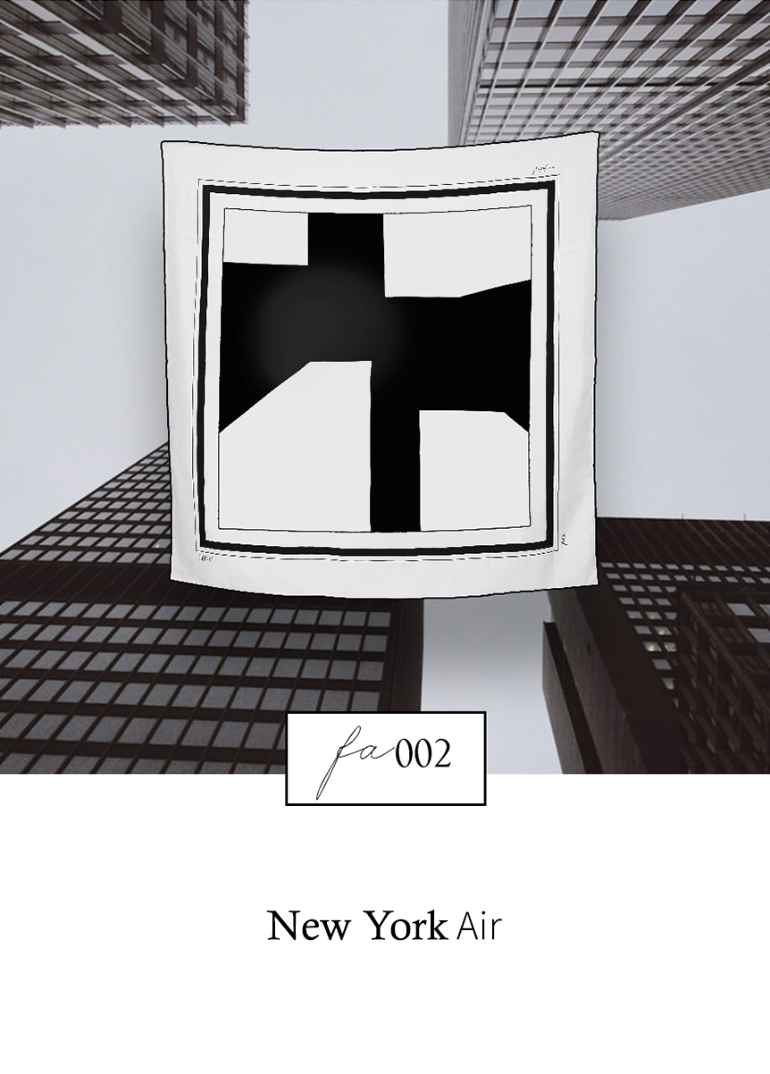 Peace Silk Scarf - FA002 New York by Sidikai on curated-crowd.com