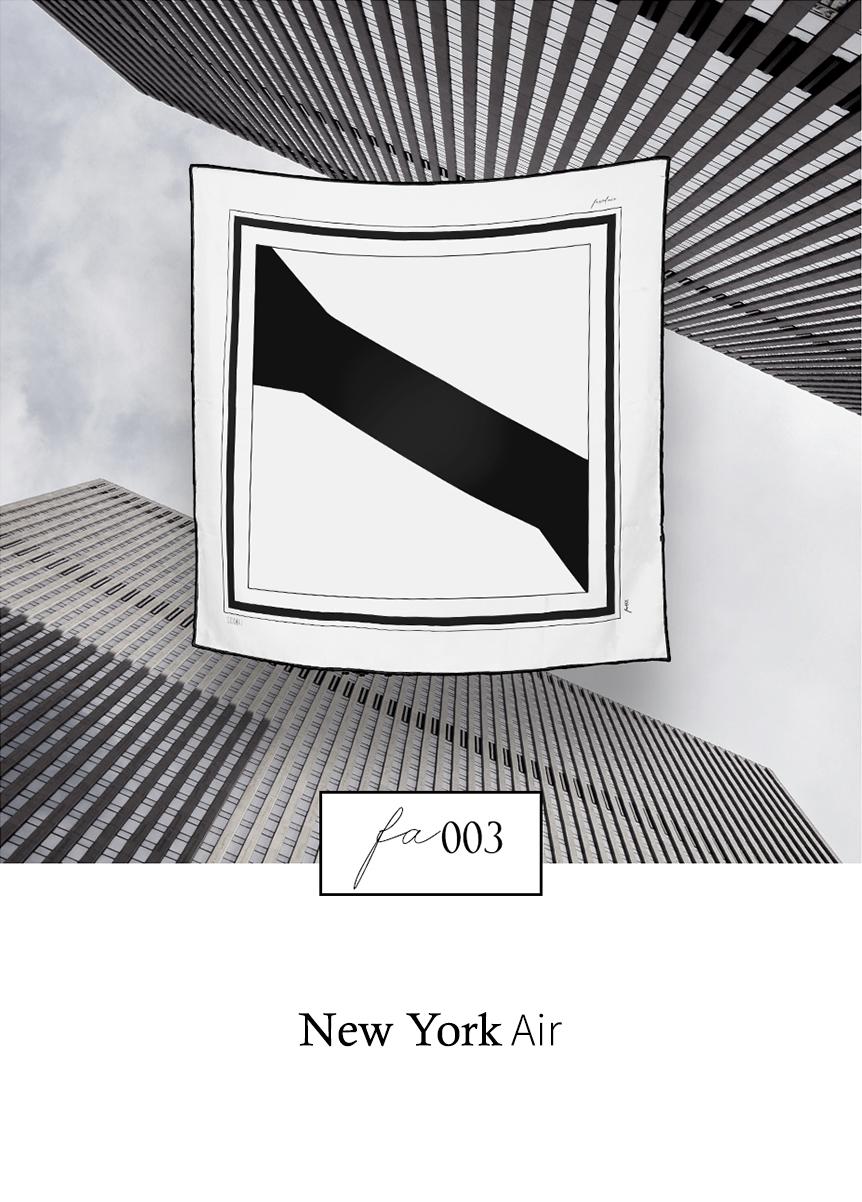 Peace Silk Scarf - FA003 New York by Sidikai on curated-crowd.com