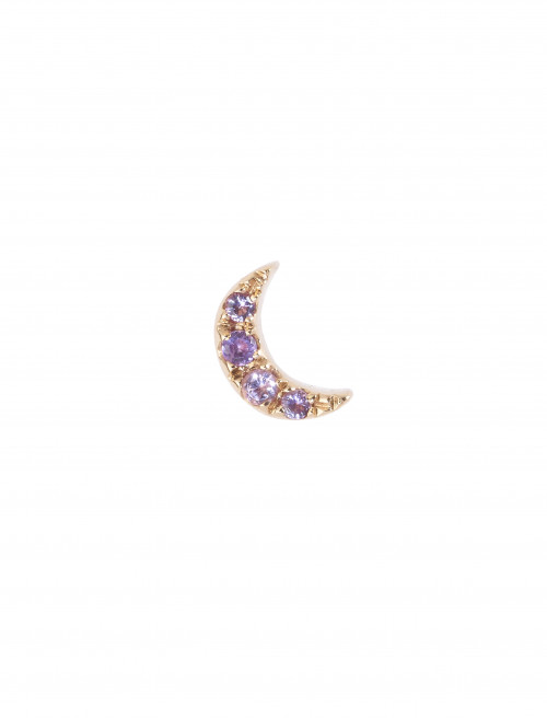 Moonlight Amethyst Earring by Marmari on curated-crowd.com