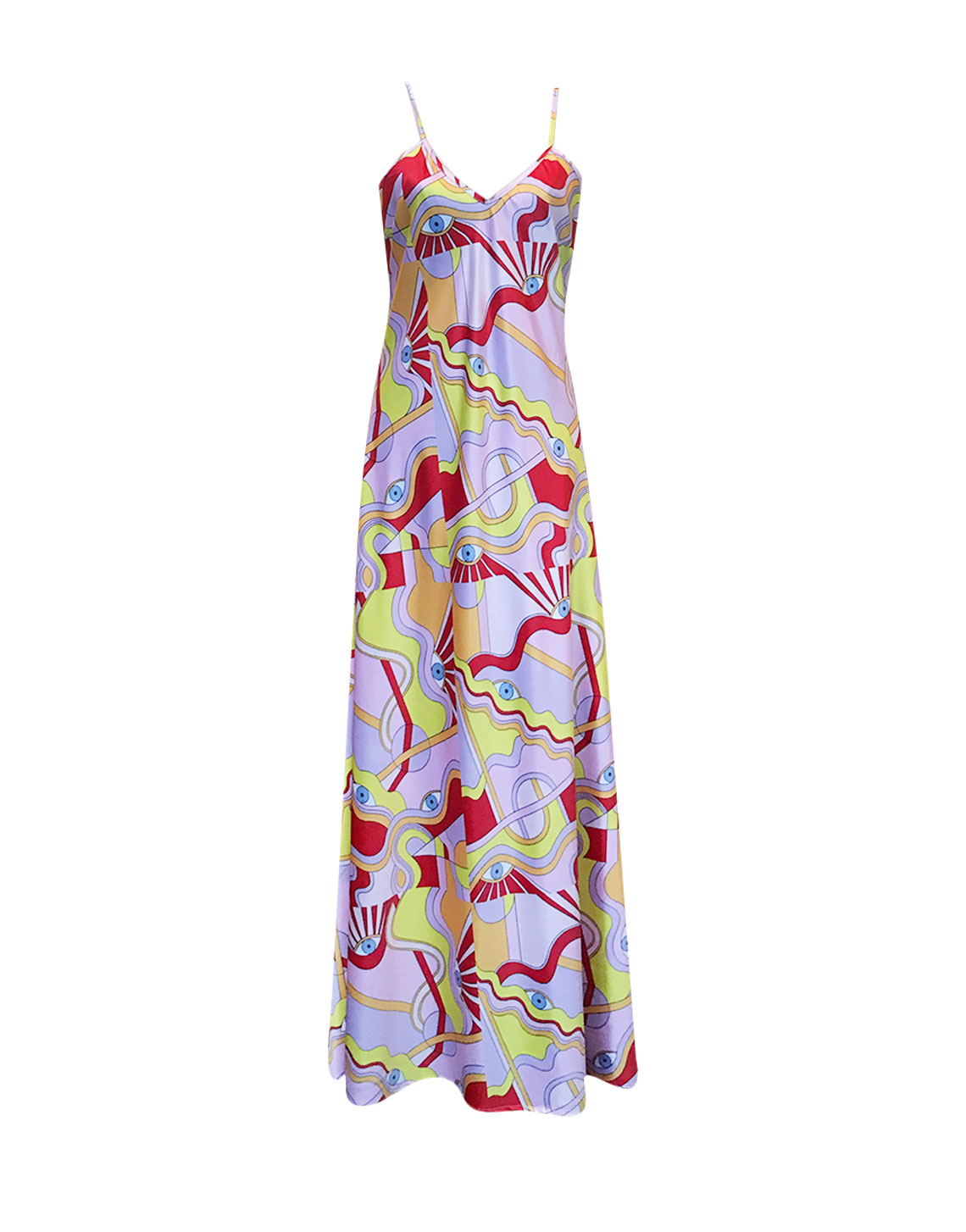 Moonflower Dress - Eye Print by Jessica K on curated-crowd.com