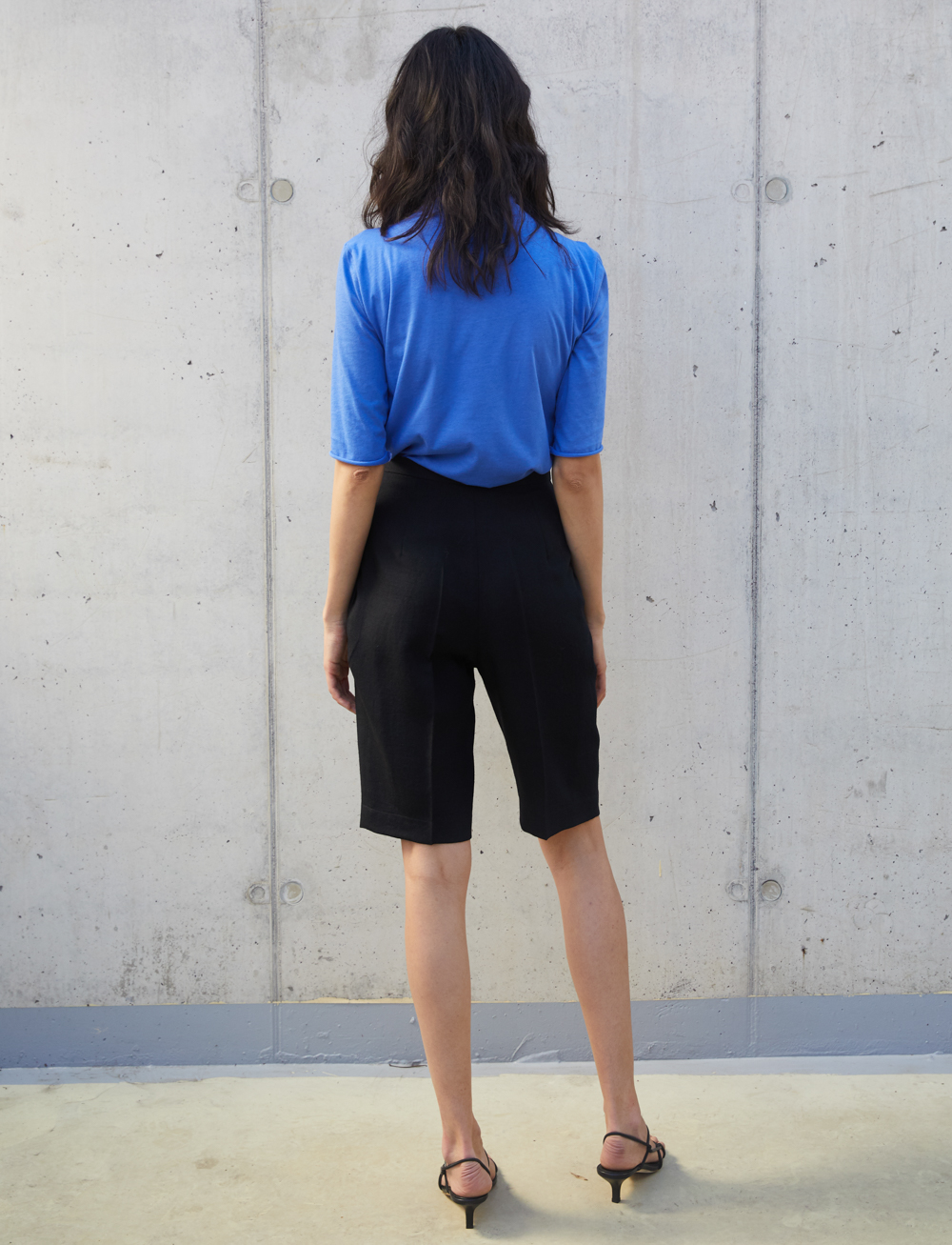 Jacqueline Shorts - Black by Manurí on curated-crowd.com