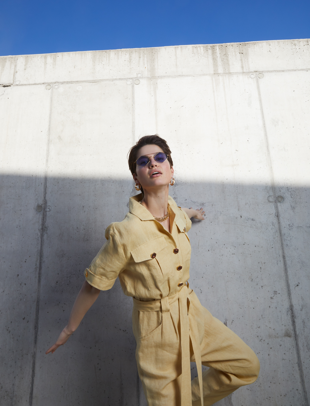 Daytona Jumpsuit by Manurí on curated-crowd.com