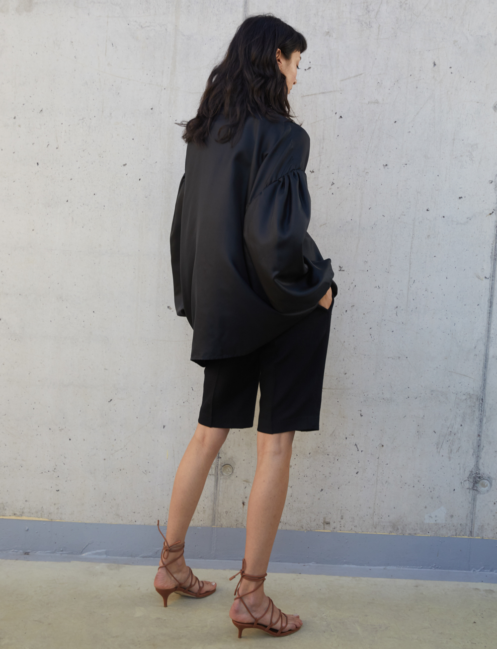 Maree Shirt - Black by Manurí on curated-crowd.com
