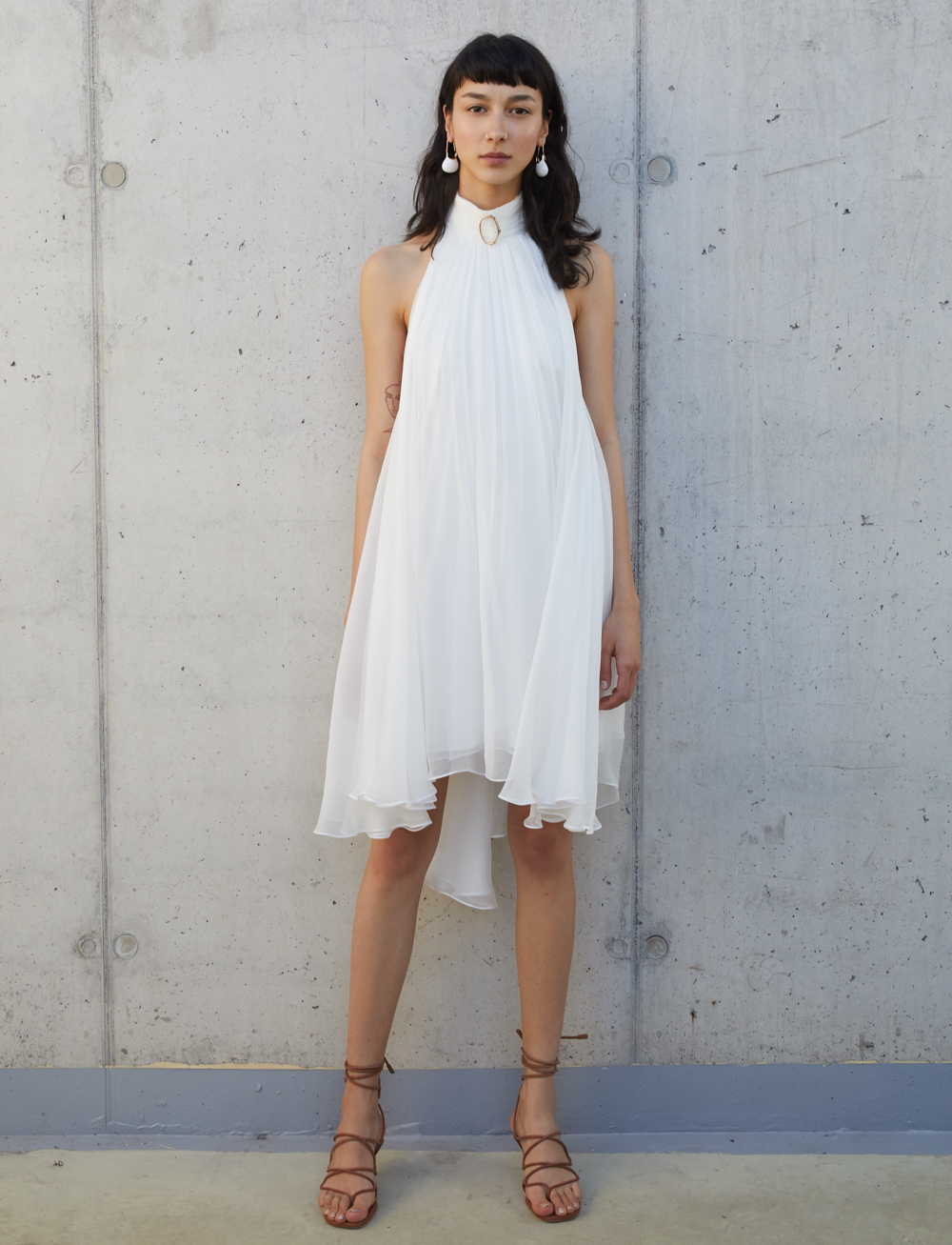 Wave Dress by Manurí on curated-crowd.com