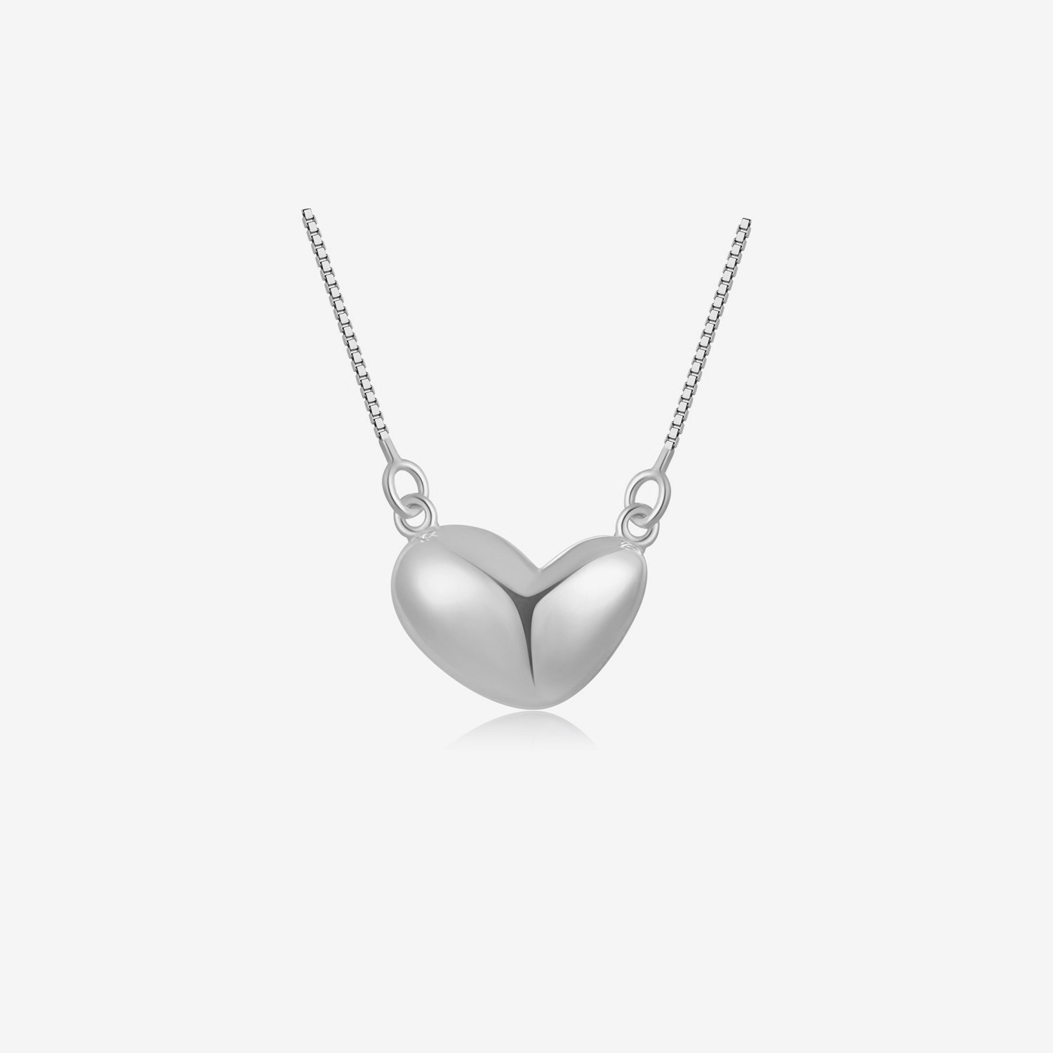 Heart Pendant Necklace - Gold by Emili on curated-crowd.com