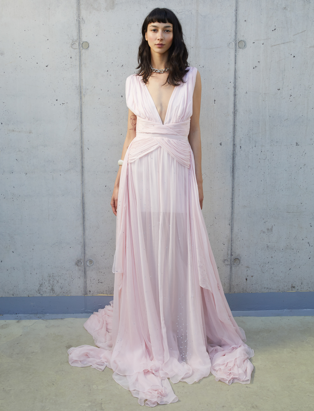 Teddy Gown - Pink by Manurí on curated-crowd.com
