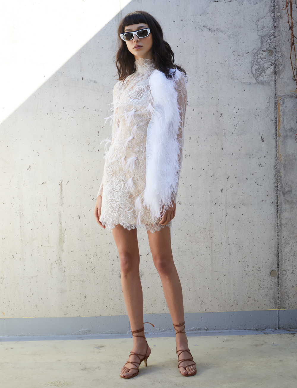 Surfing S.W.A.N Dress by Manurí on curated-crowd.com