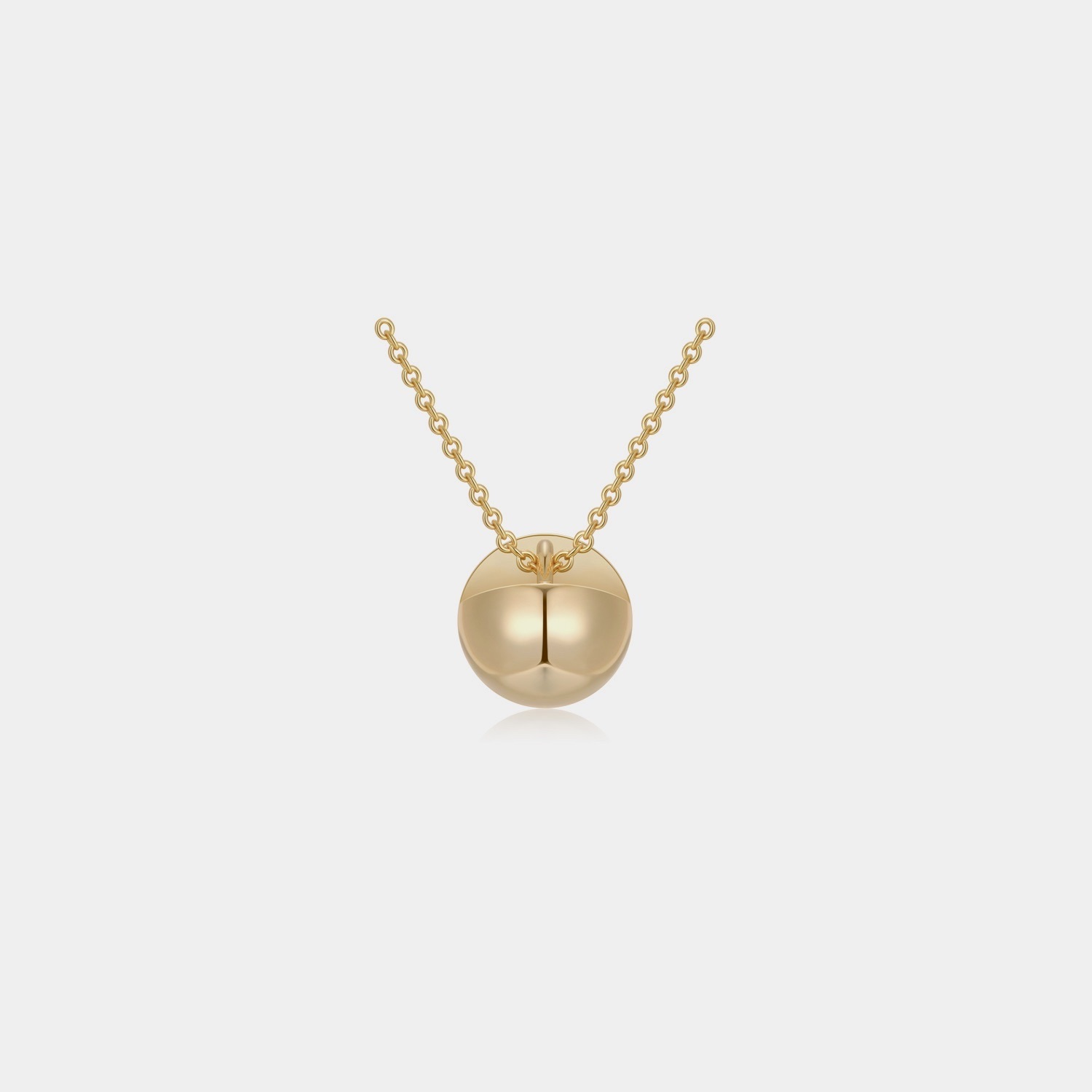 Lou Necklace - Gold by Emili on curated-crowd.com