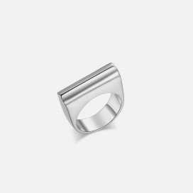 Chace Ring - Silver by Emili on curated-crowd.com