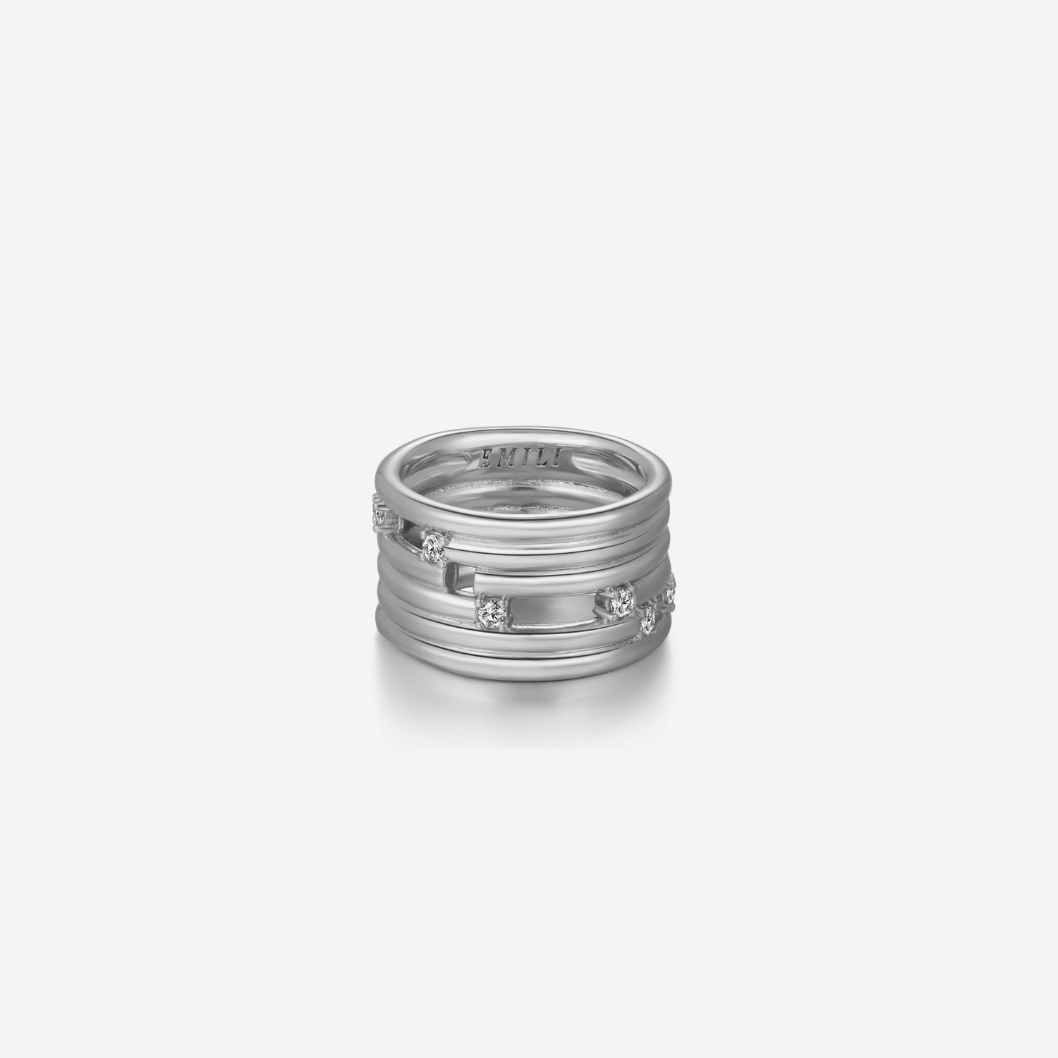 Jules - Silver by Emili on curated-crowd.com