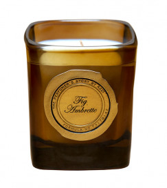Fig Ambrette Candle 180g by The Perfumer's Story by Azzi on curated-crowd.com