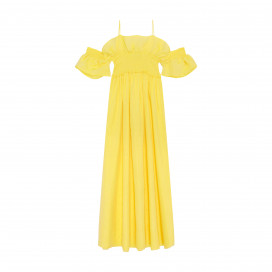 Siesta Dress - Yellow by Berta Cabestany on curated-crowd.com