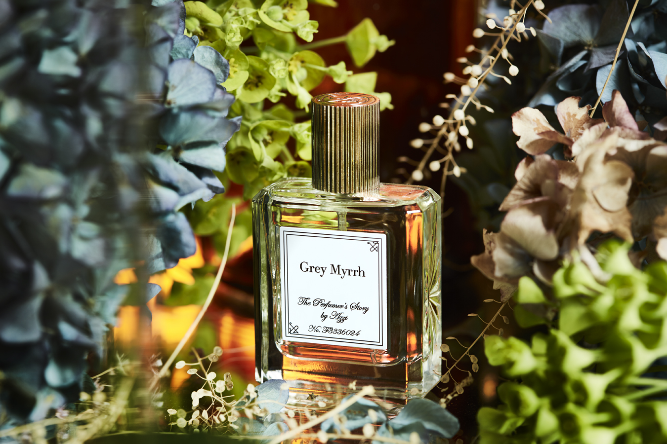 Grey Myrrh Eau De Parfum 30ml by The Perfumer's Story by Azzi on curated-crowd.com