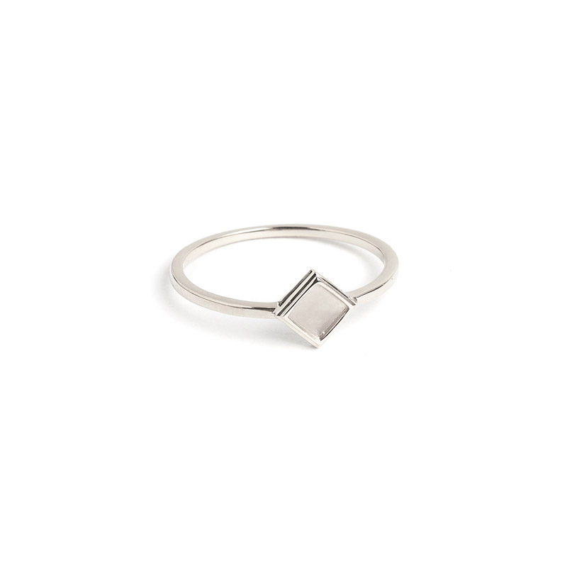 Rhombus Ring by The Straits Finery on curated-crowd.com