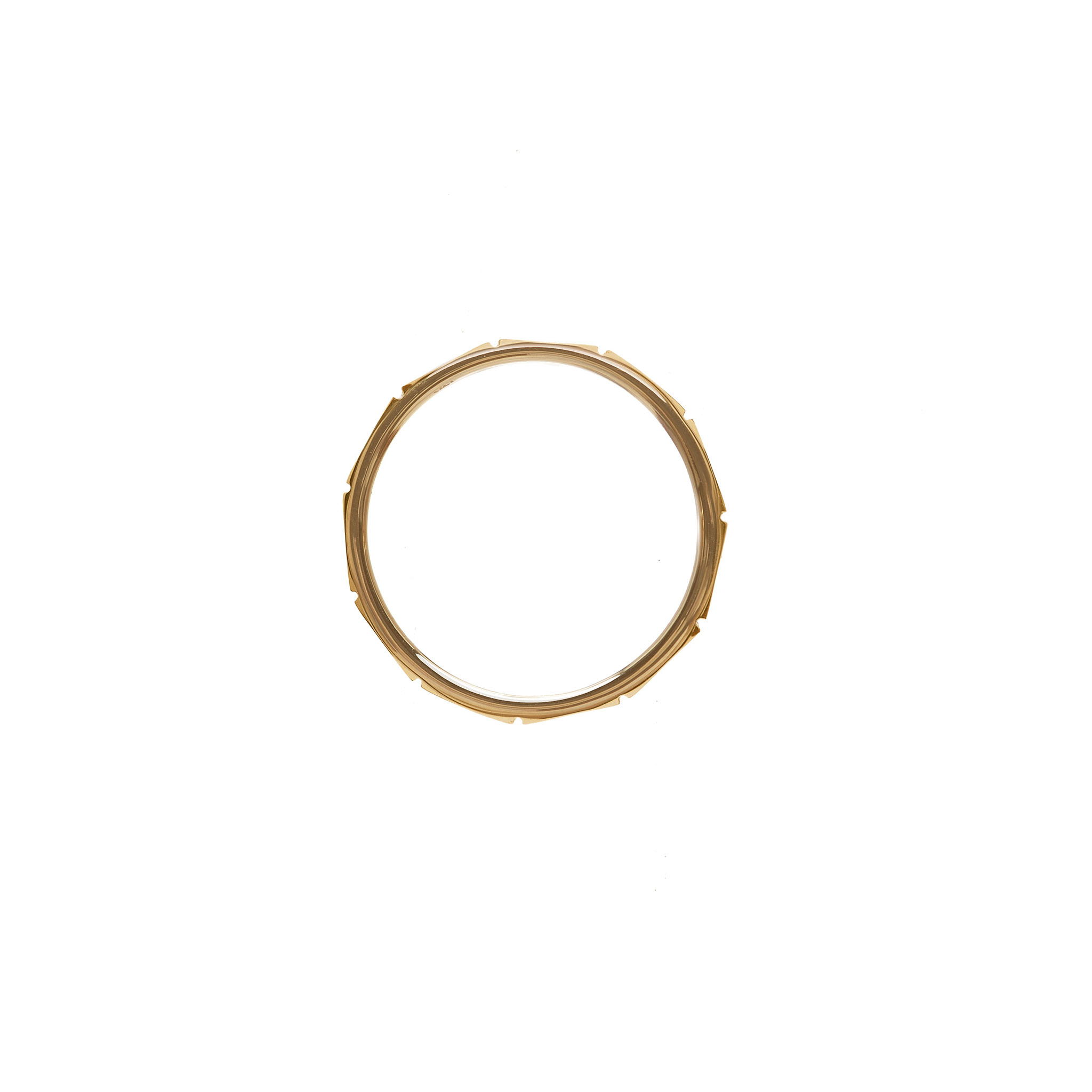 Sea Bamboo Ring, 14k Gold by The Straits Finery on curated-crowd.com