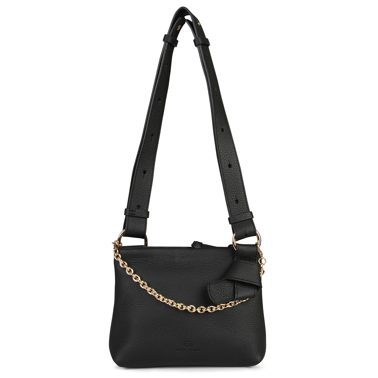 Mini Mayfair Shoulder Bag - Black by Esin Akan on curated-crowd.com
