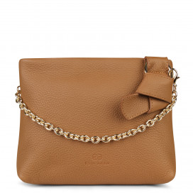Mini Mayfair Shoulder Bag - Tan by Esin Akan on curated-crowd.com