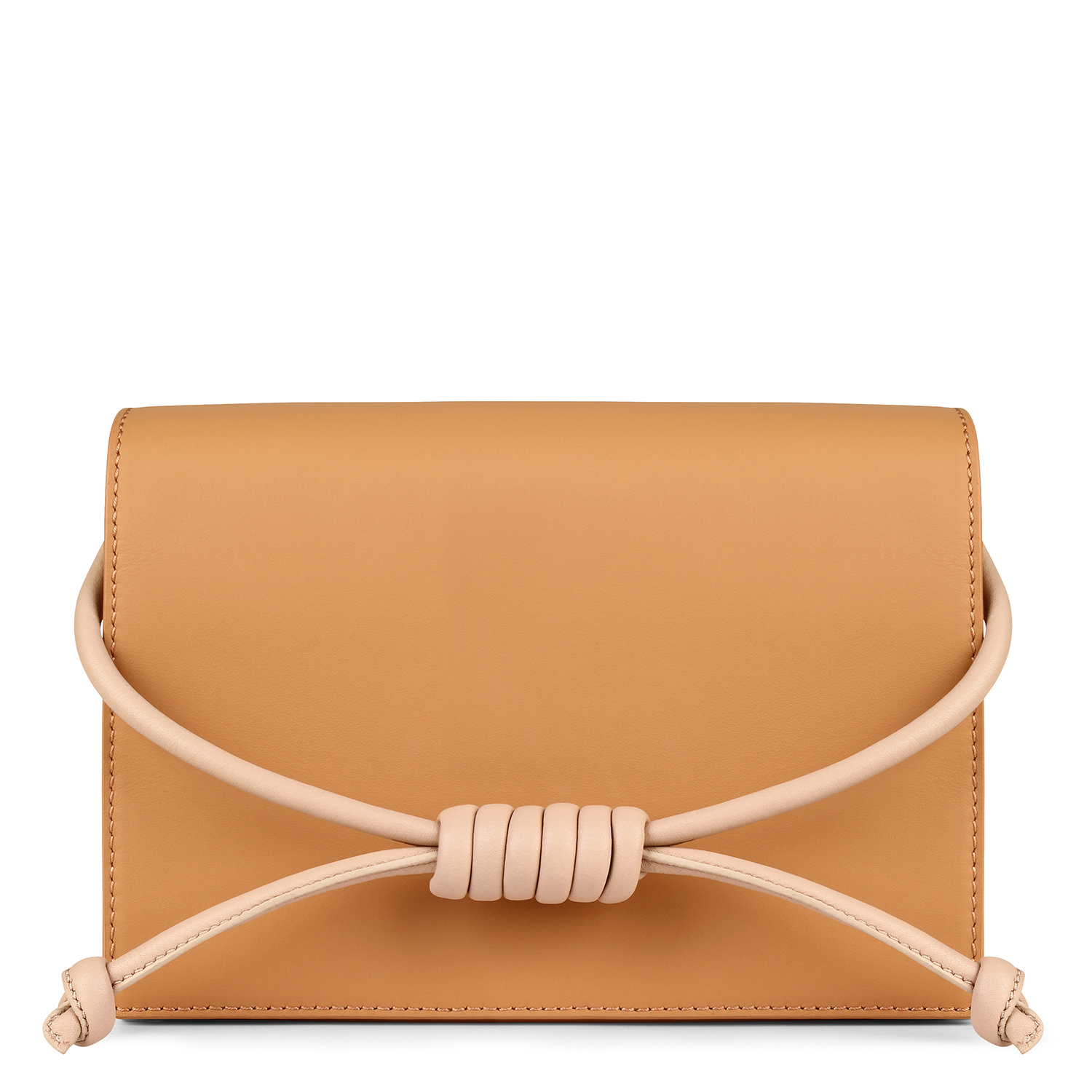 Midi Chelsea Clutch - Caramel by Esin Akan on curated-crowd.com