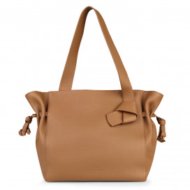 Large Kensington Shoulder Bag - Tan by Esin Akan on curated-crowd.com