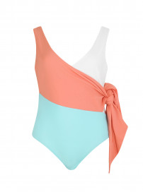 Copacabana Swimsuit - Coral Coast by PAPER London on curated-crowd.com