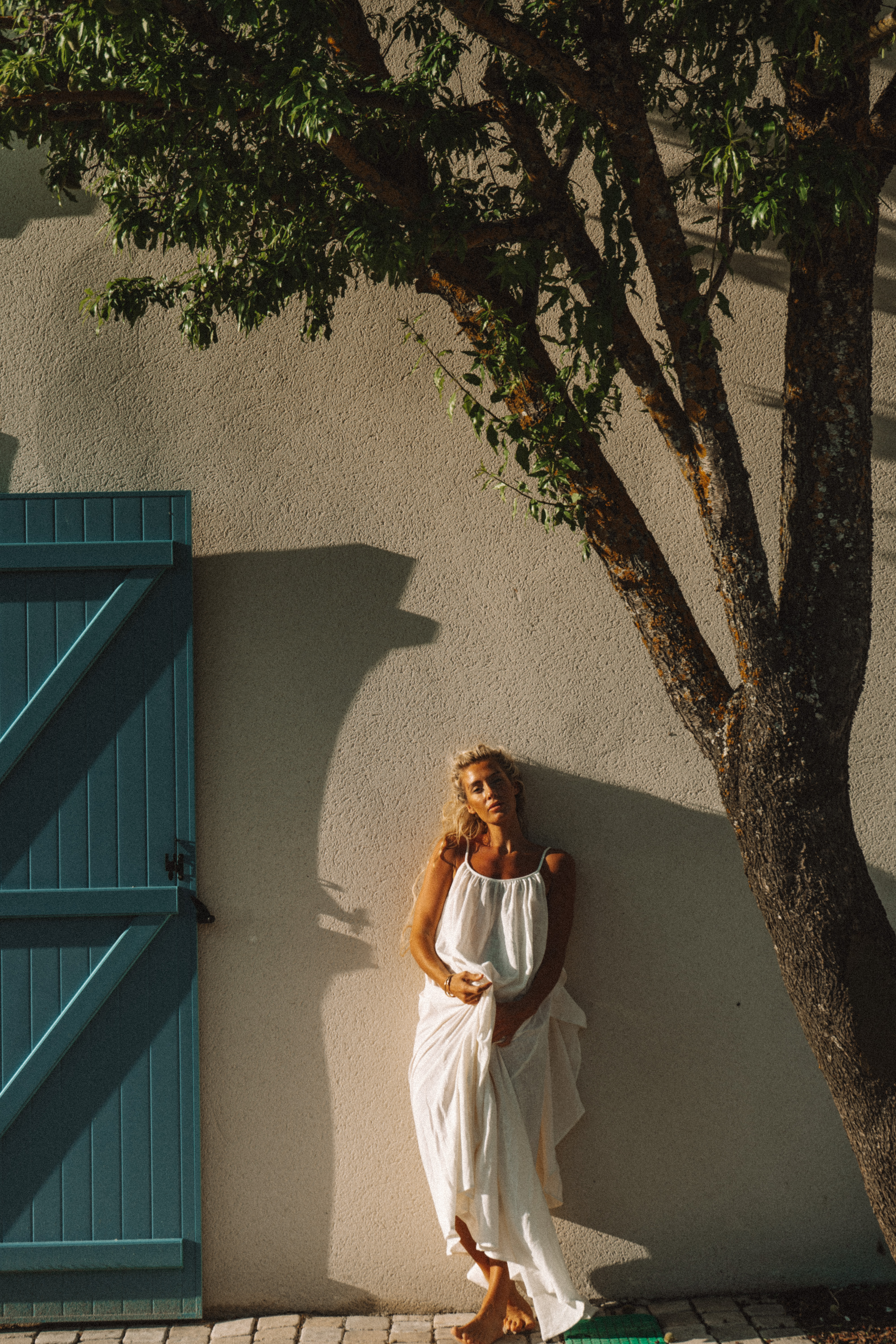 Syros Cotton Dress by A Perfect Nomad on curated-crowd.com