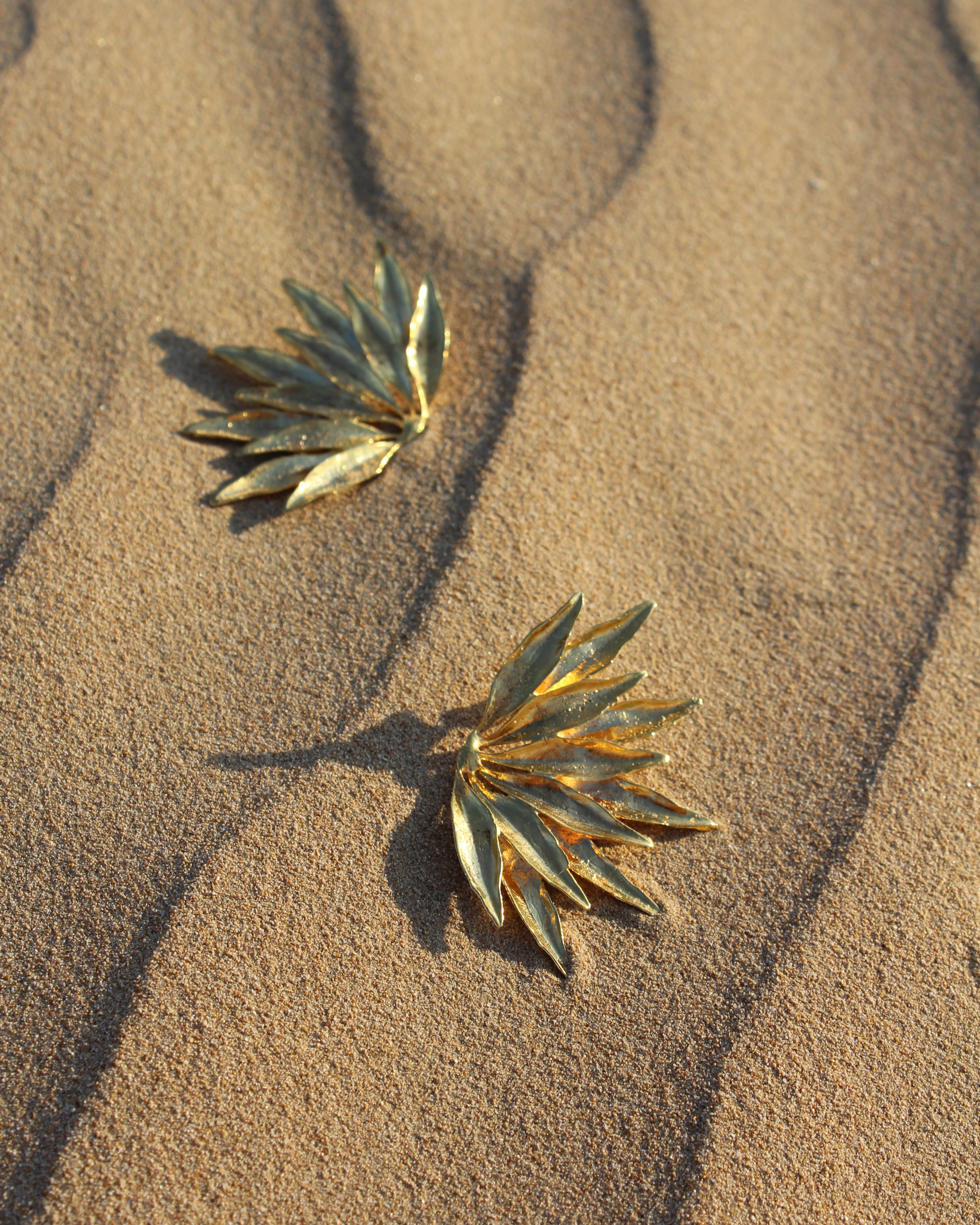 Dahlia Earrings by Lynyer on curated-crowd.com