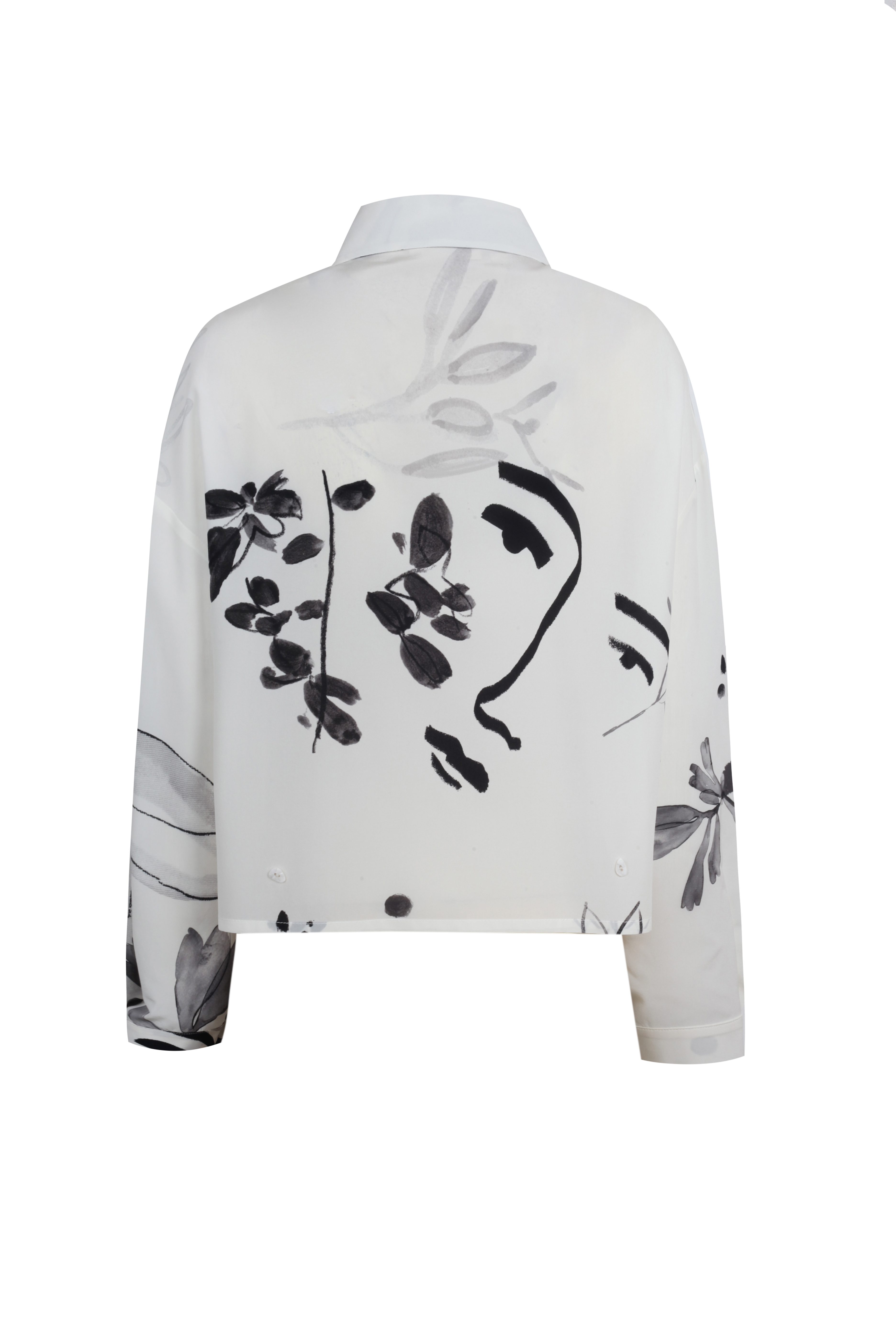 Mellow Shirt - White by Laika on curated-crowd.com