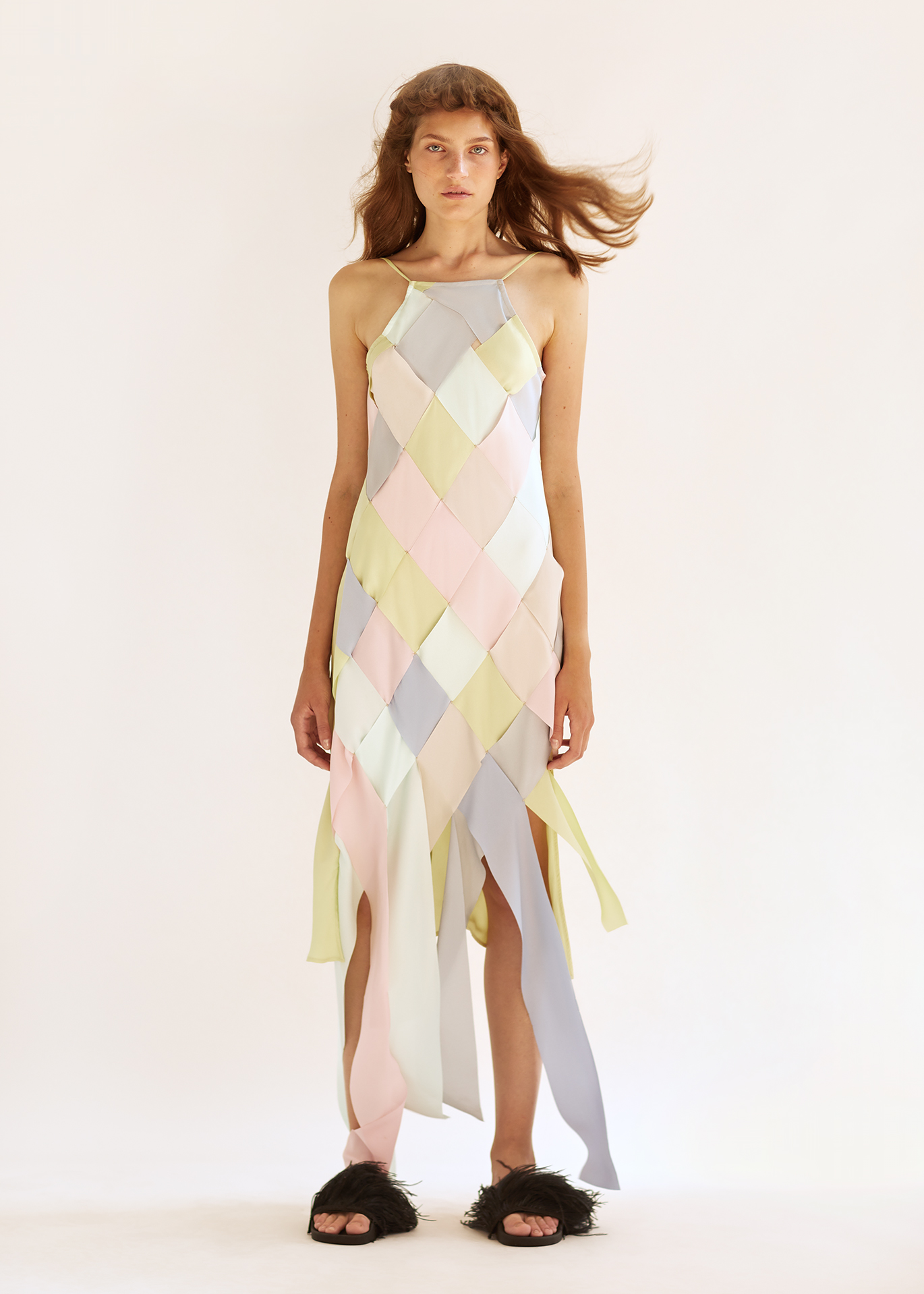Natalia Laser Cut Dress by Naya Rea on curated-crowd.com