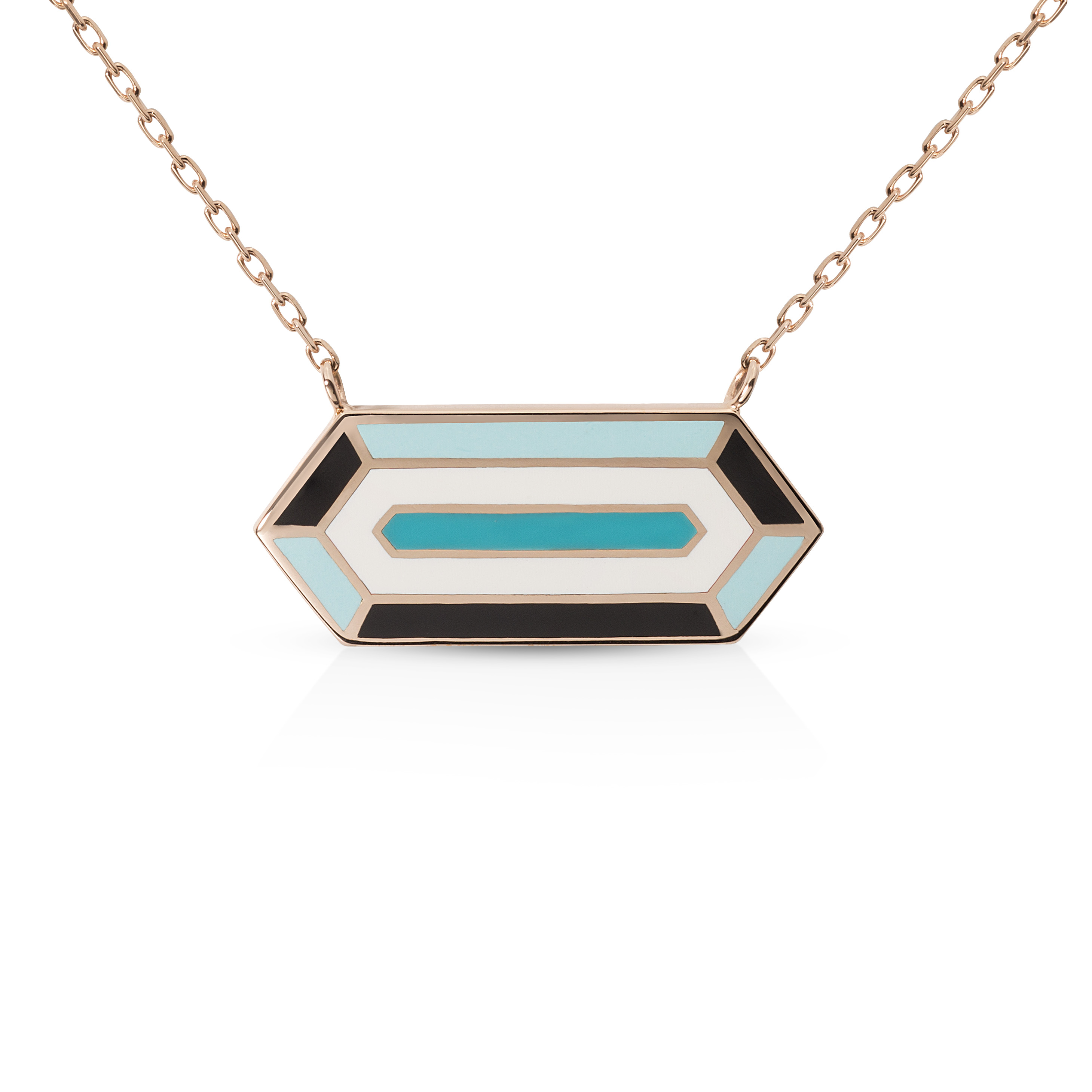 Avila Necklace - 18K Gold by Aveen on curated-crowd.com