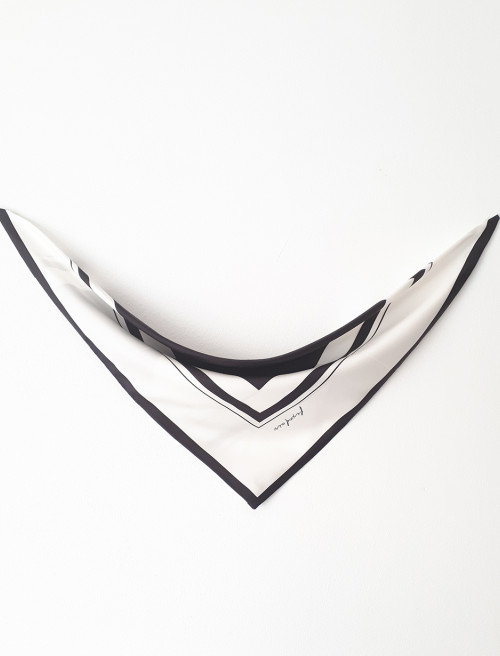 Peace Silk Triangle Scarf by Sidikai on curated-crowd.com