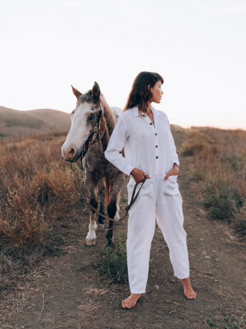 Globetrotter Jumpsuit by A Perfect Nomad on curated-crowd.com