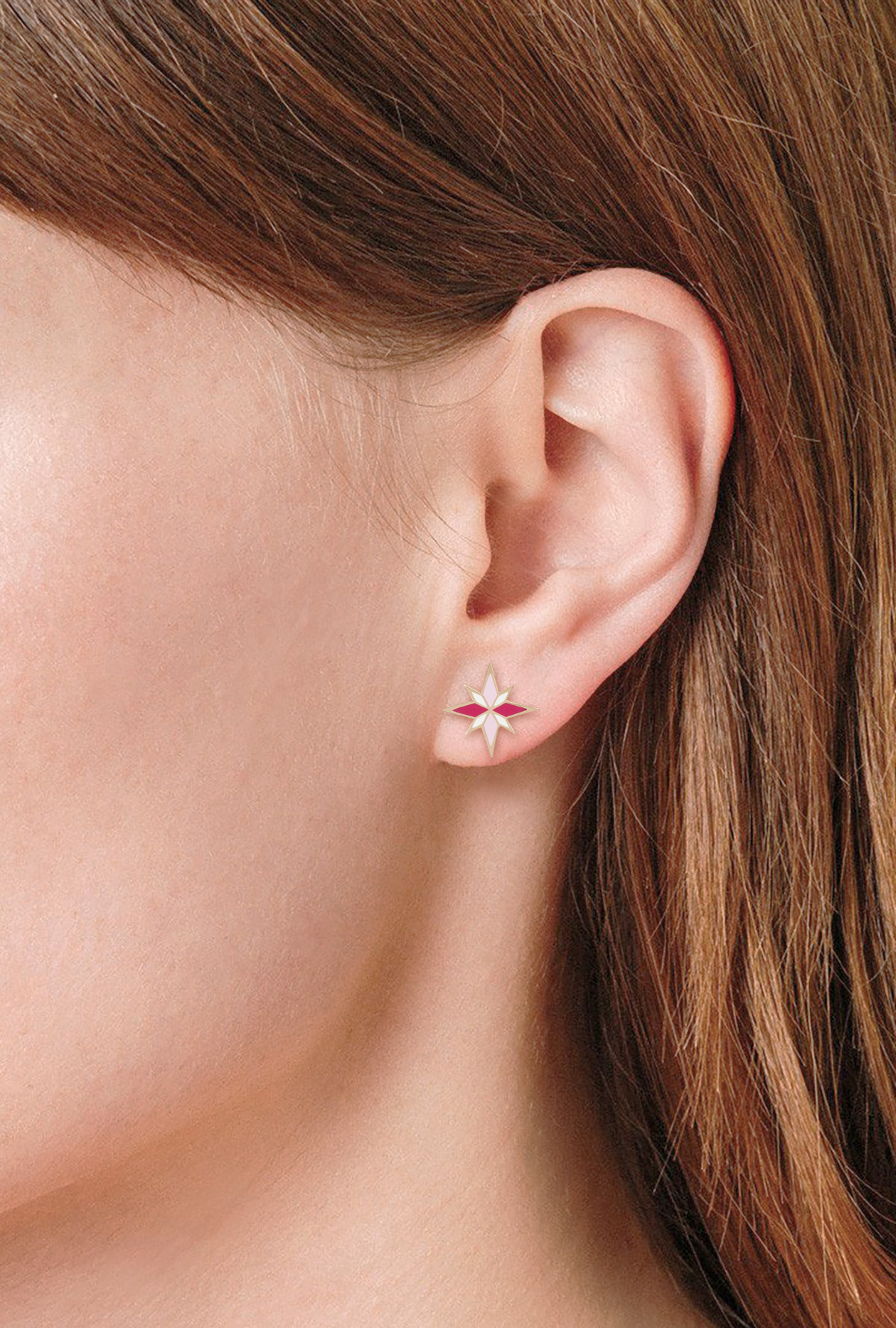 Pink Sirius Earrings by Aveen on curated-crowd.com