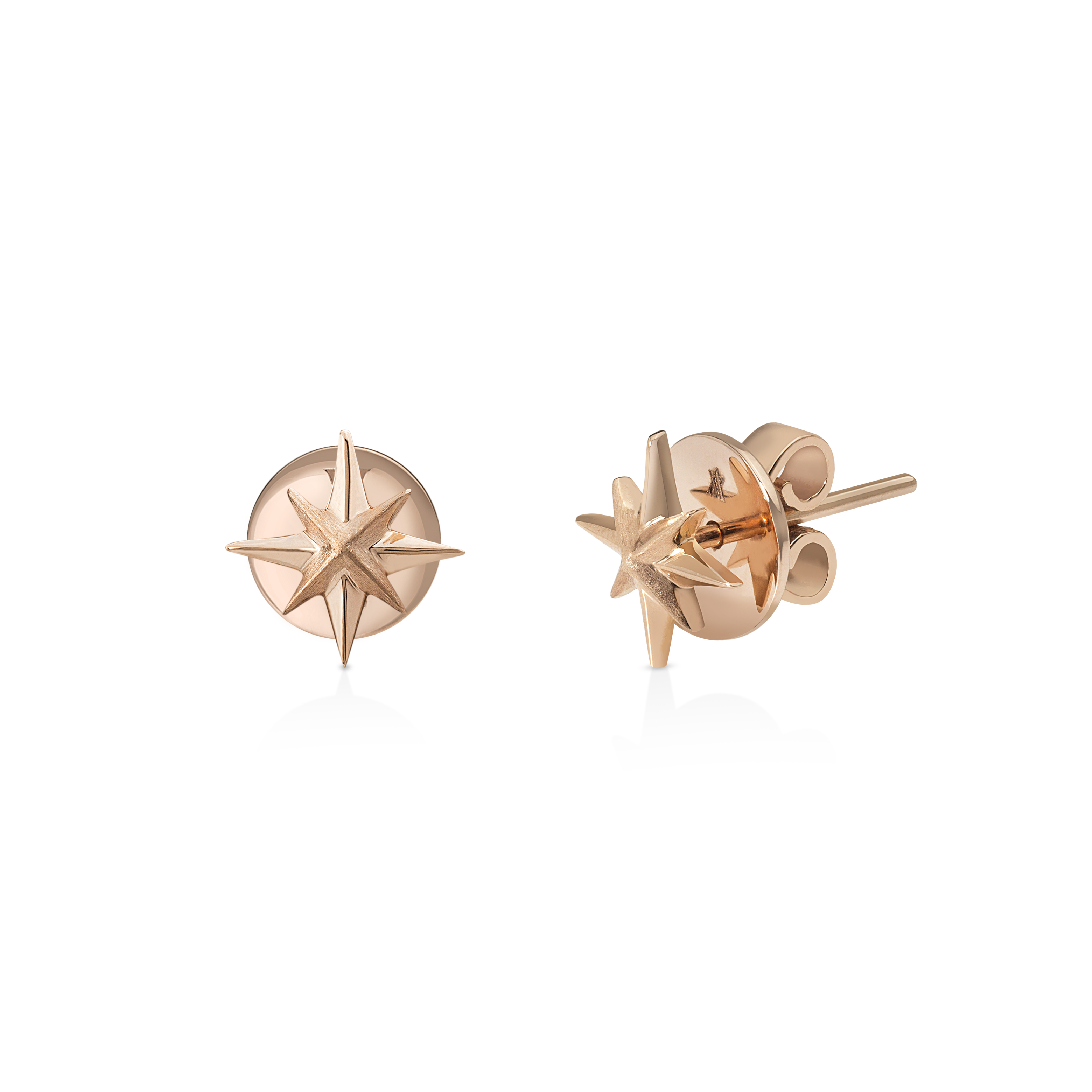 Stella Earrings - 18K Gold by Aveen on curated-crowd.com