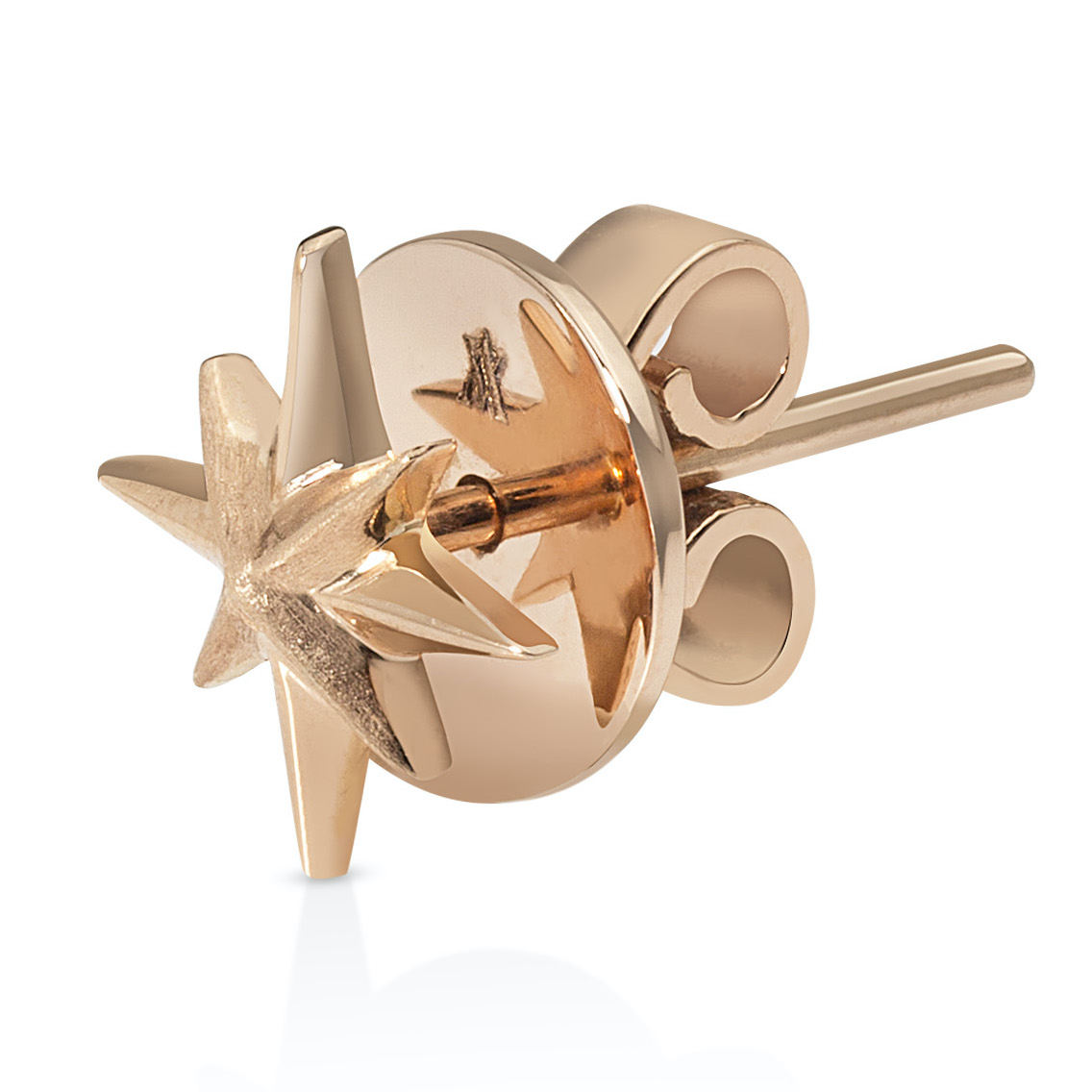 Stella Earrings - 18K Rose Gold by Aveen on curated-crowd.com